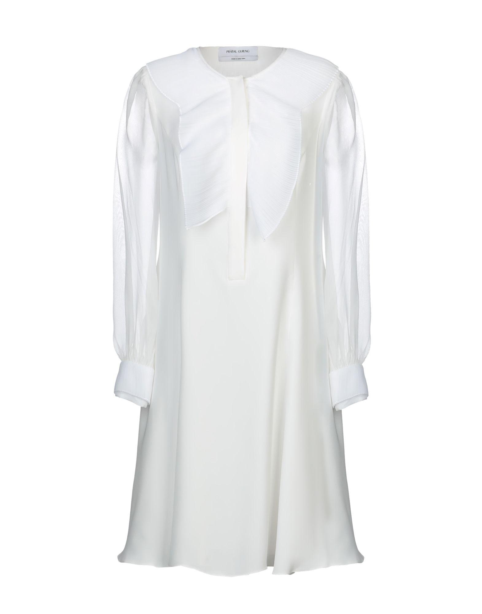 PRABAL GURUNG Платье до колена