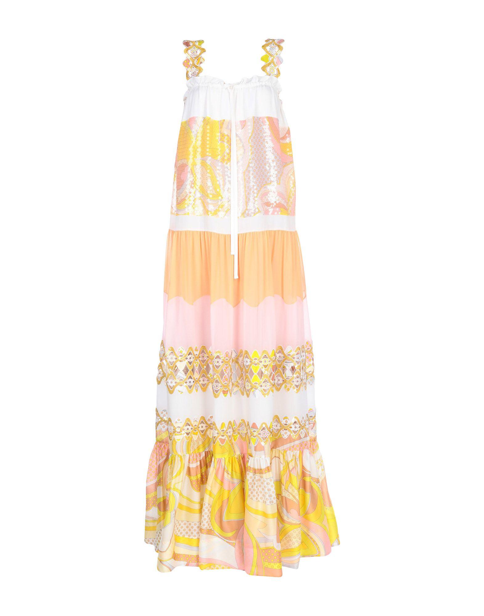 EMILIO PUCCI Длинное платье платье длинное emilio pucci платья и сарафаны макси длинные