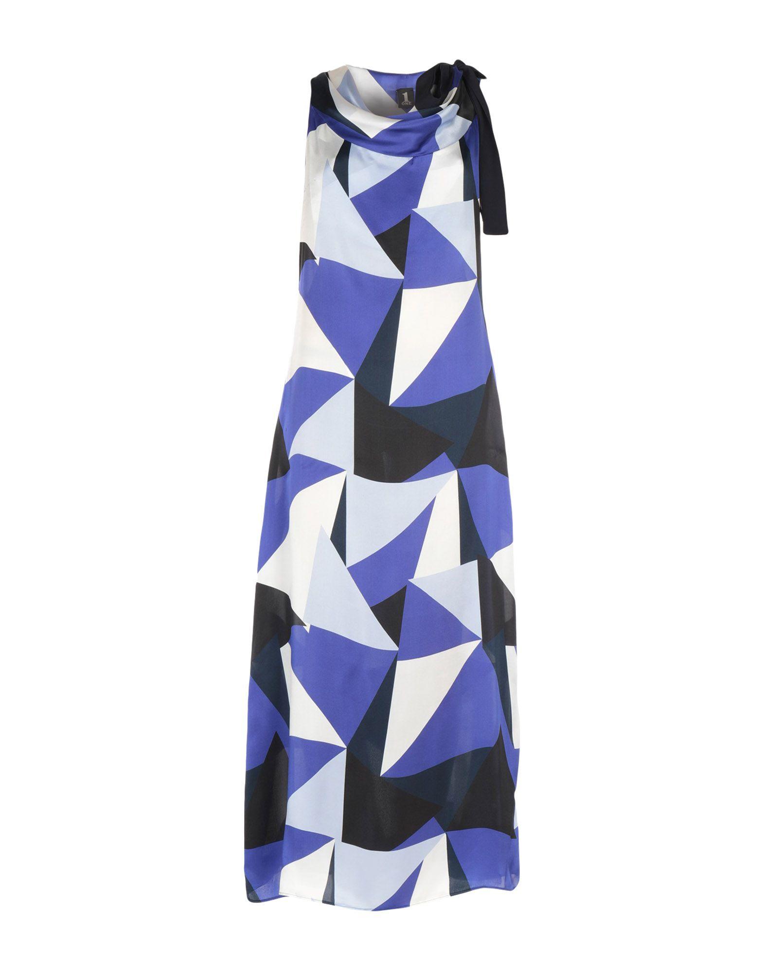 1-ONE Длинное платье недорго, оригинальная цена