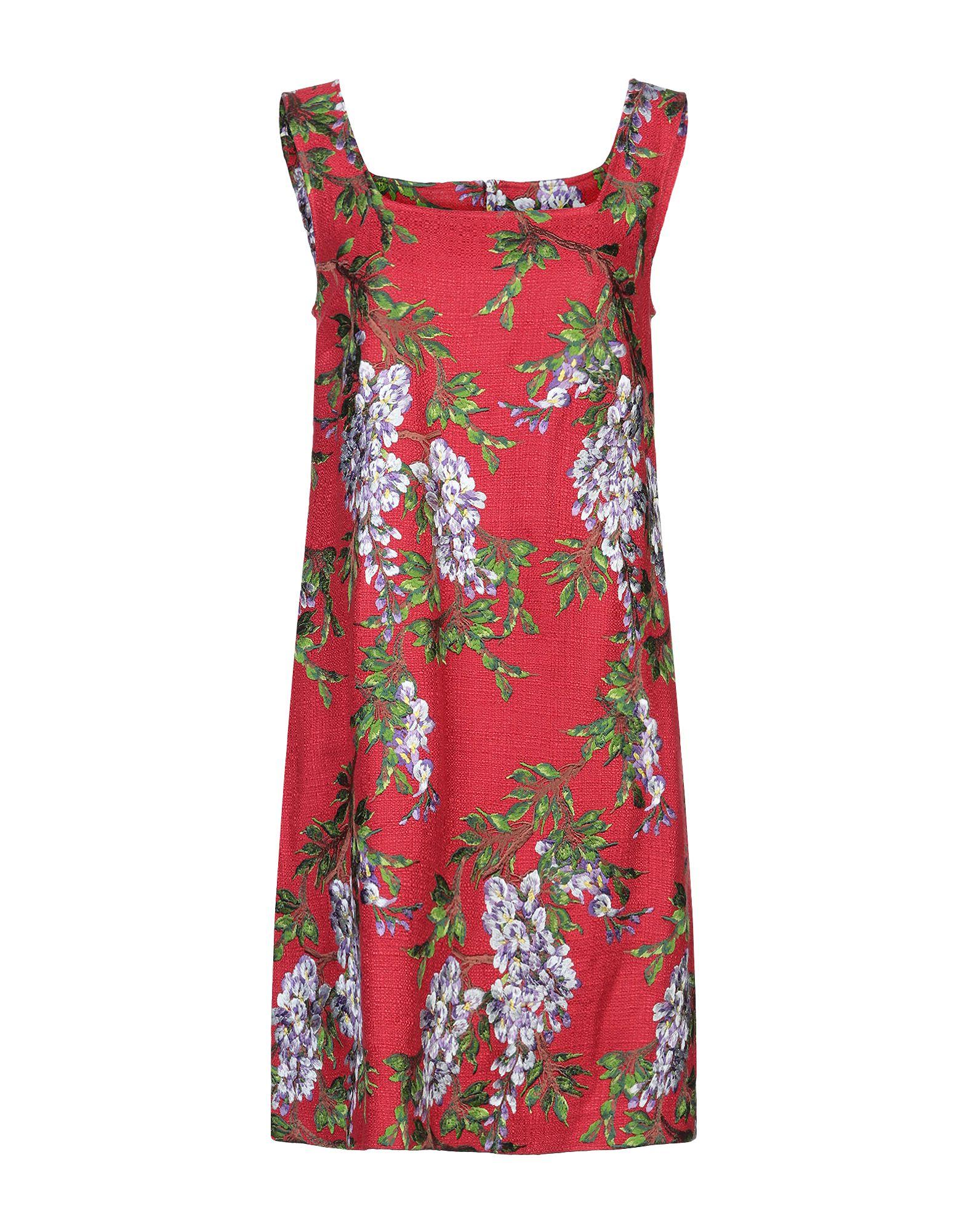 купить DOLCE & GABBANA Короткое платье по цене 39500 рублей