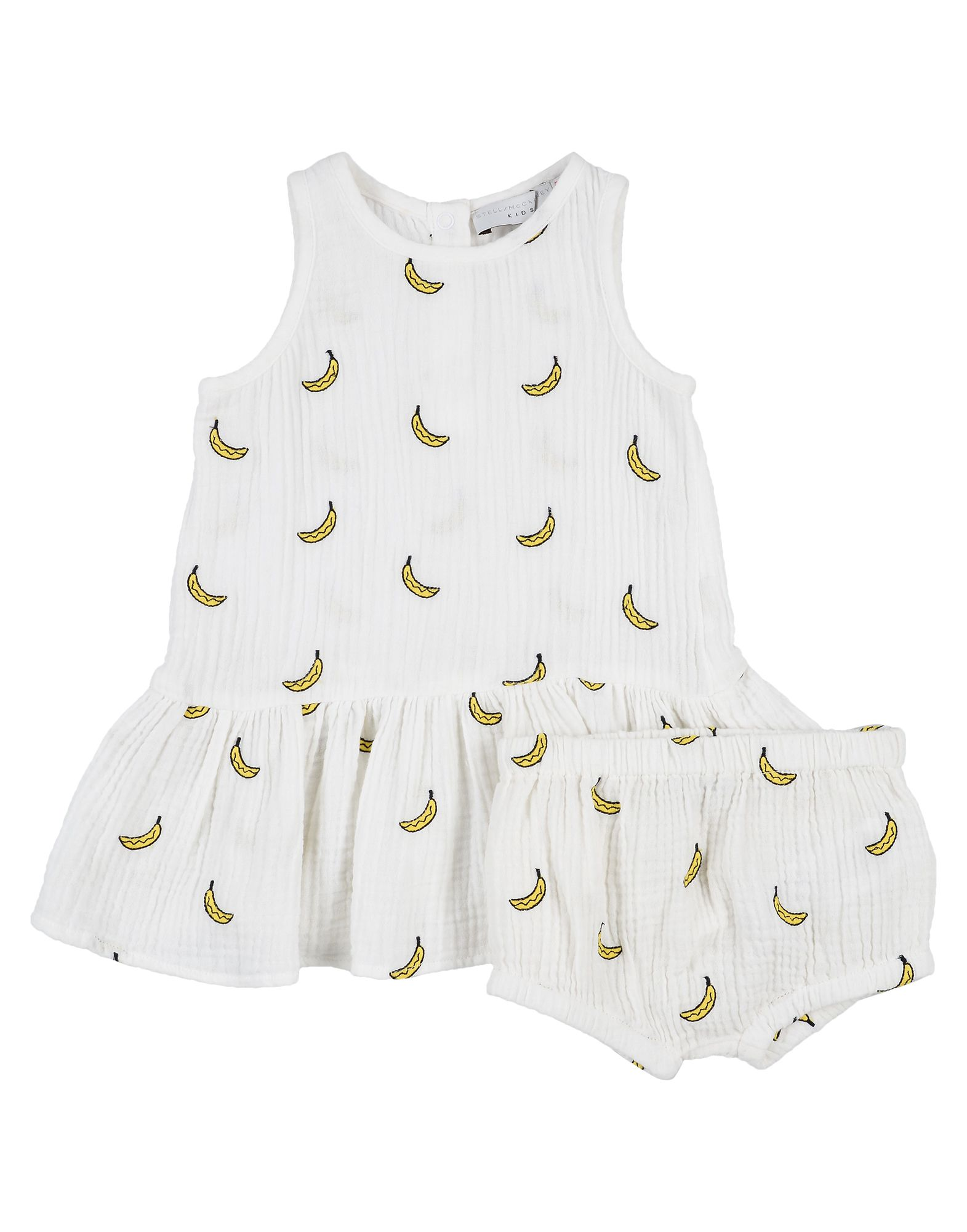 《セール開催中》STELLA McCARTNEY KIDS ガールズ 0-24 ヶ月 ワンピース・ドレス ホワイト 6 コットン 100% / ポリエステル