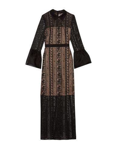 Фото - Женское длинное платье MIKAEL AGHAL черного цвета