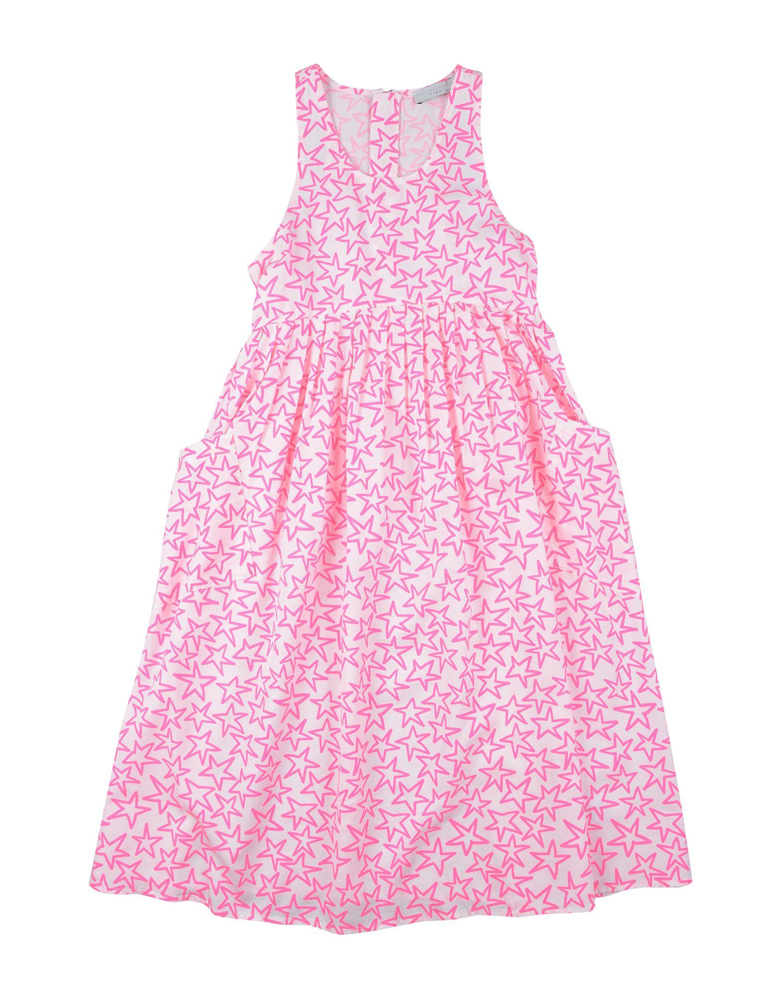 《セール開催中》STELLA McCARTNEY KIDS ガールズ 9-16 歳 ワンピース&ドレス ホワイト 10 テンセル 100%