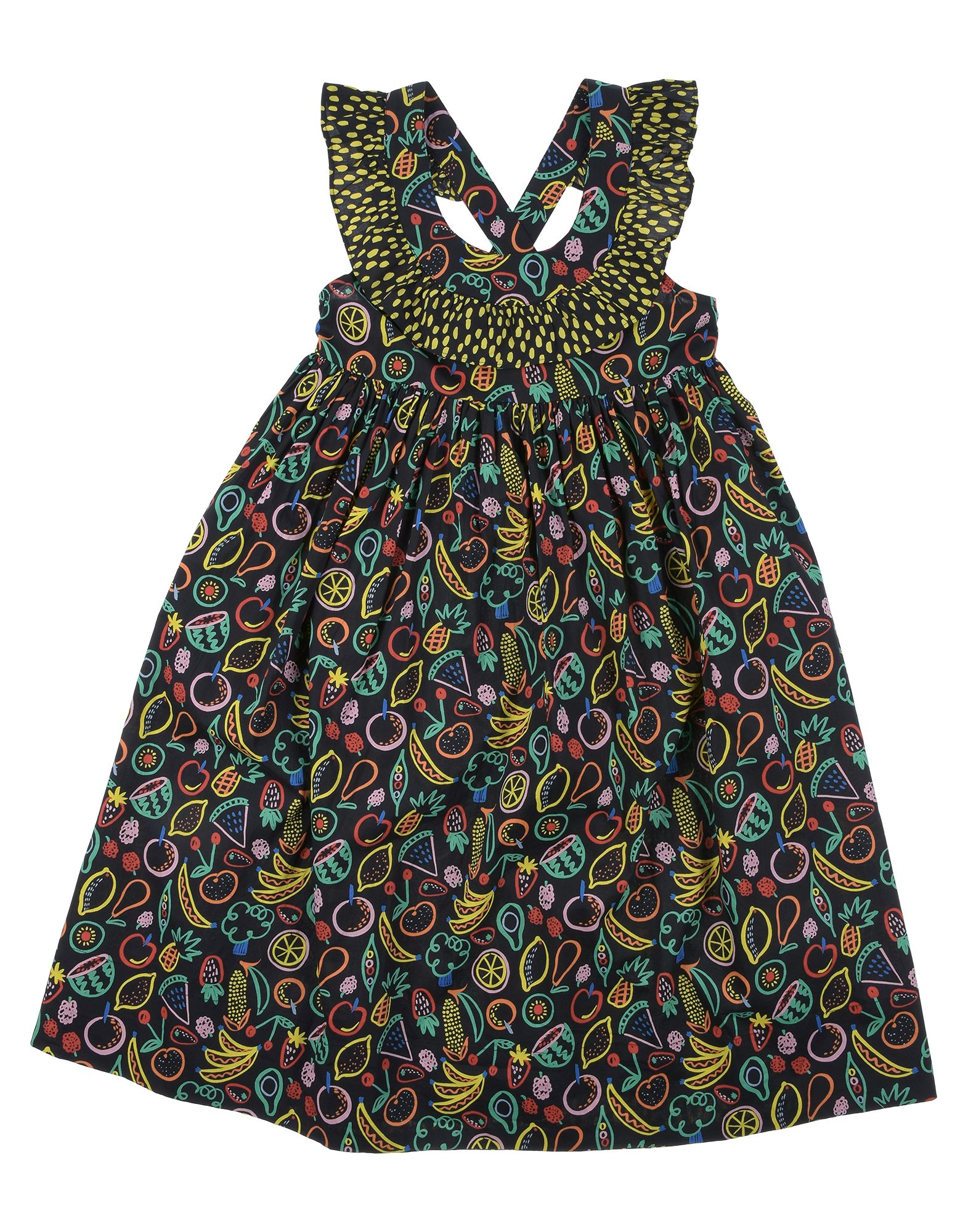 《セール開催中》STELLA McCARTNEY KIDS ガールズ 9-16 歳 ワンピース&ドレス ブラック 10 コットン 100%
