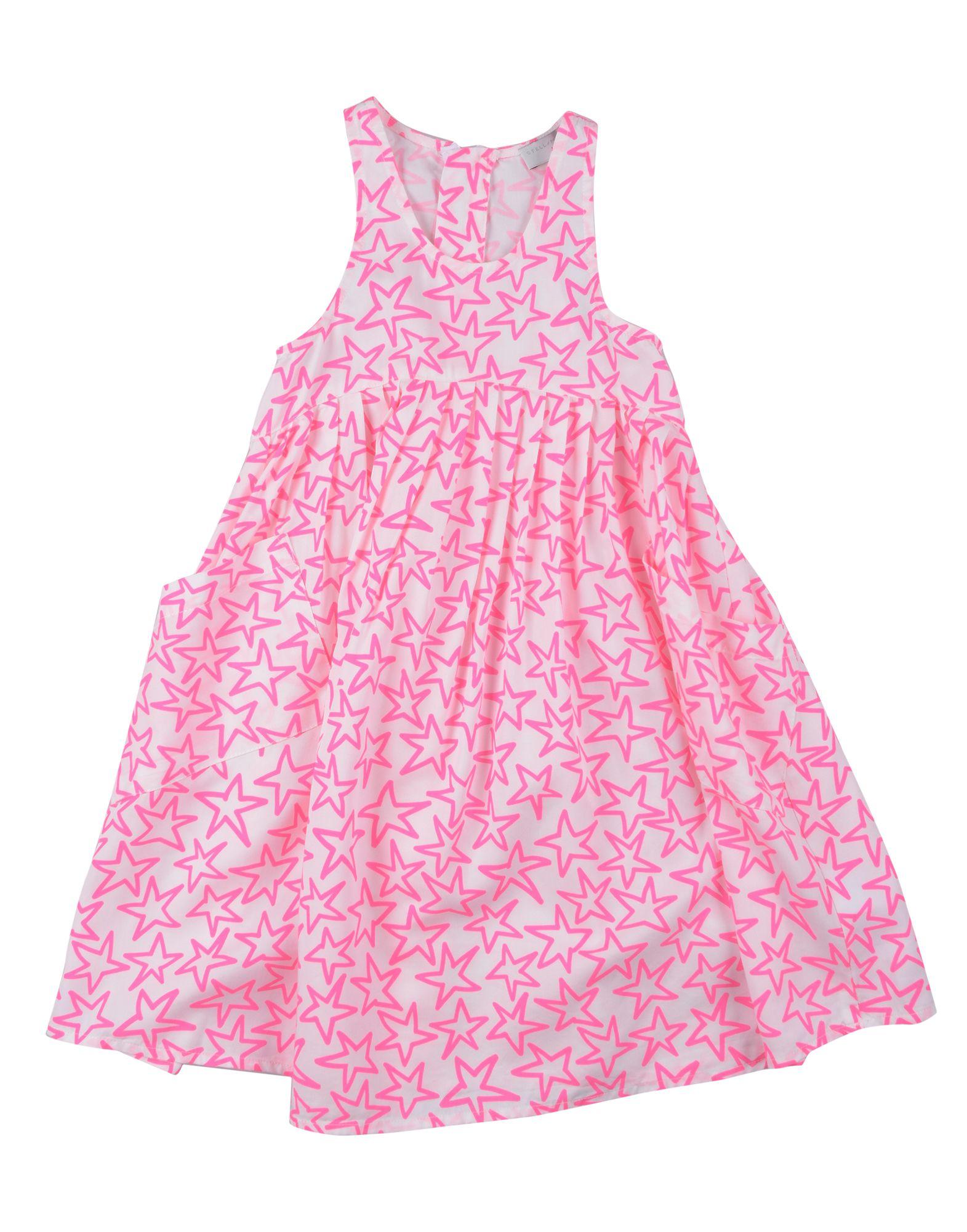 《セール開催中》STELLA McCARTNEY KIDS ガールズ 3-8 歳 ワンピース&ドレス ホワイト 3 テンセル 100%