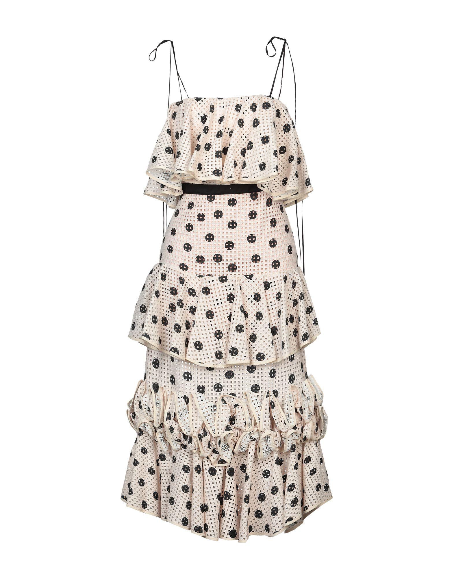 JOHANNA ORTIZ Платье длиной 3/4 johanna ortiz длинное платье