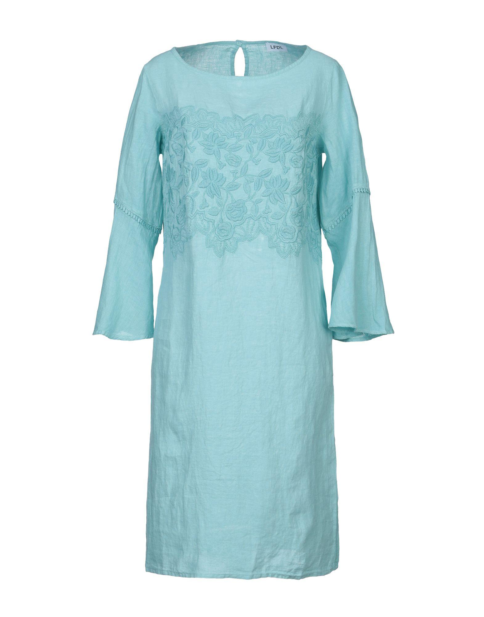 цена на LFDL LA FABBRICA DEL LINO Платье до колена