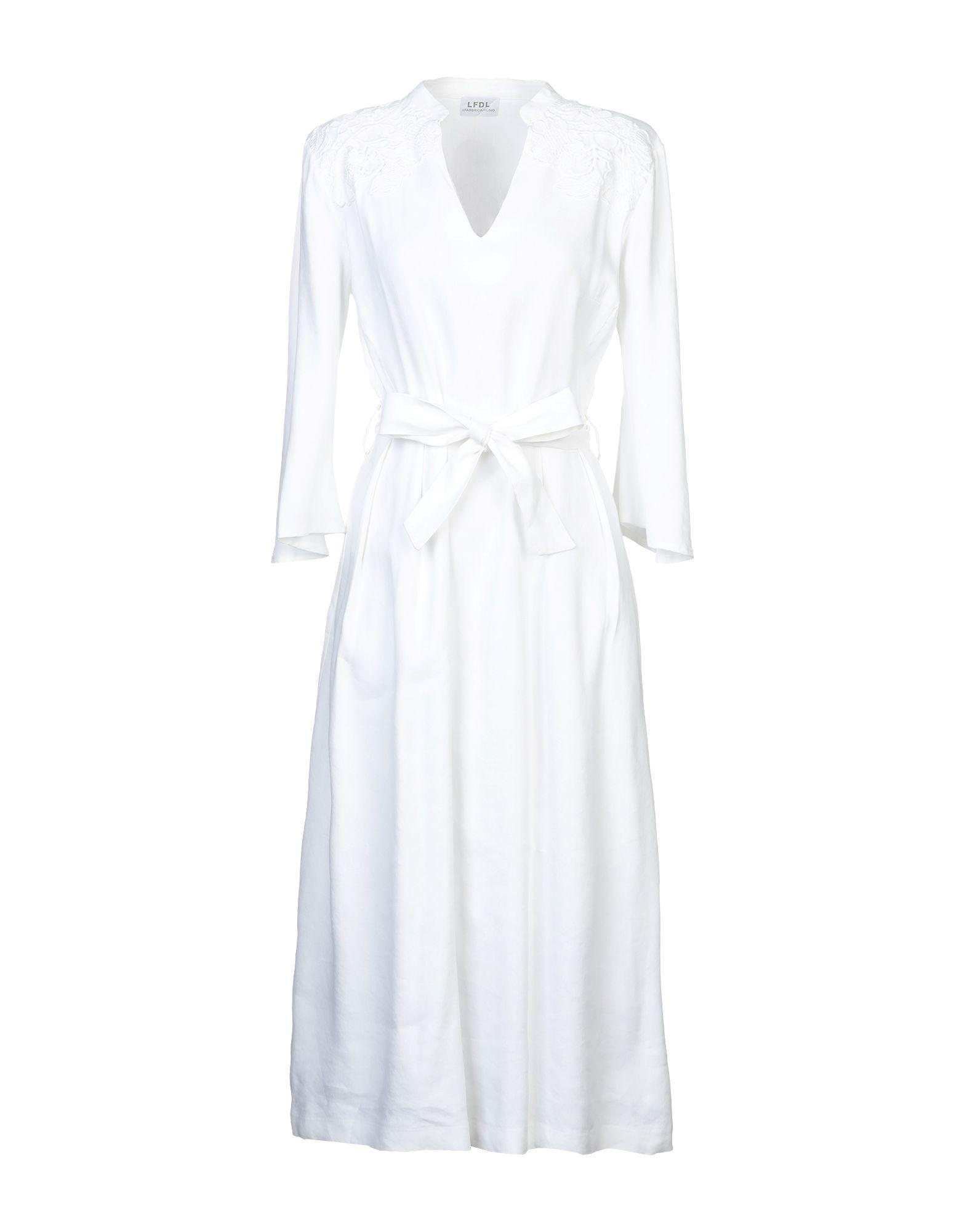 LA FABBRICA del LINO Платье длиной 3/4 la fabrique платье длиной 3 4