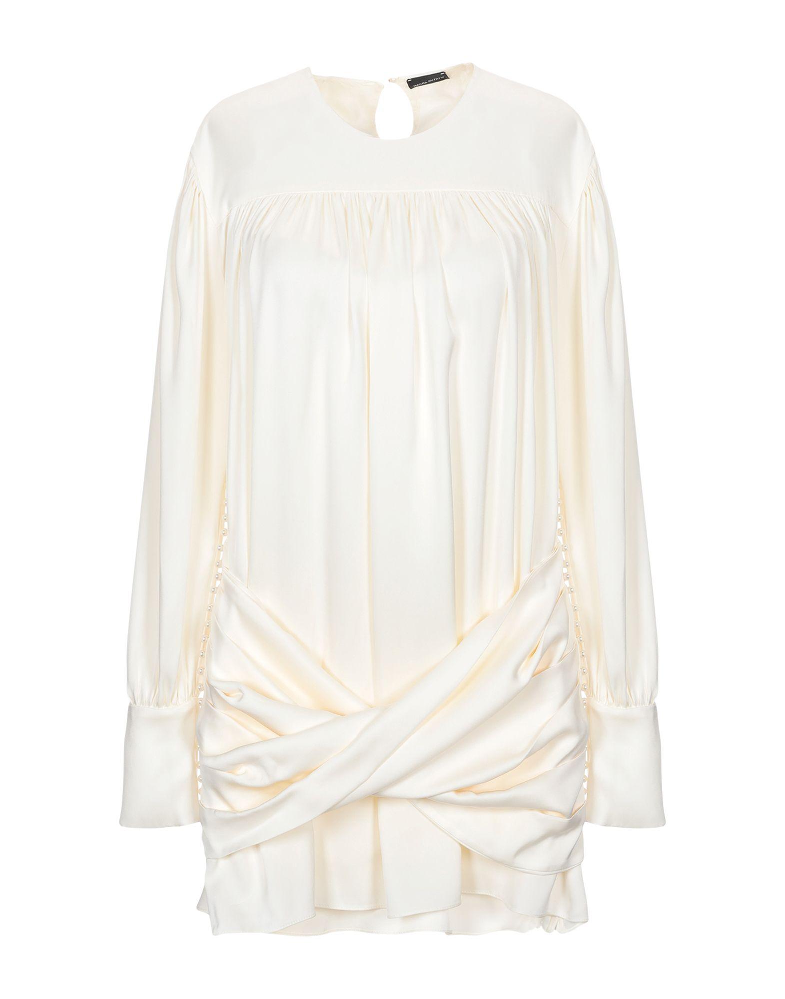 MAGDA BUTRYM Короткое платье magda butrym pубашка