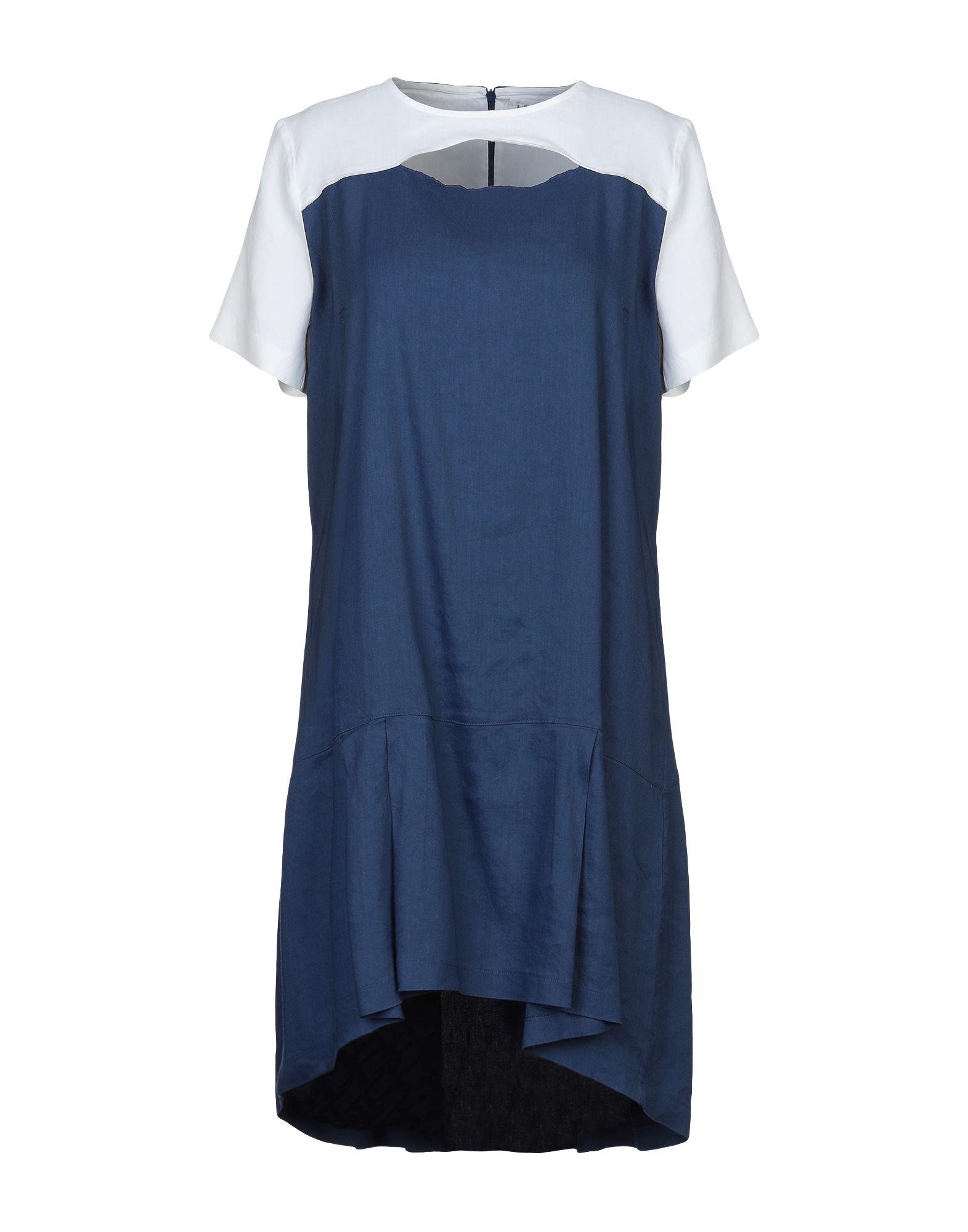 LFDL LA FABBRICA DEL LINO Короткое платье