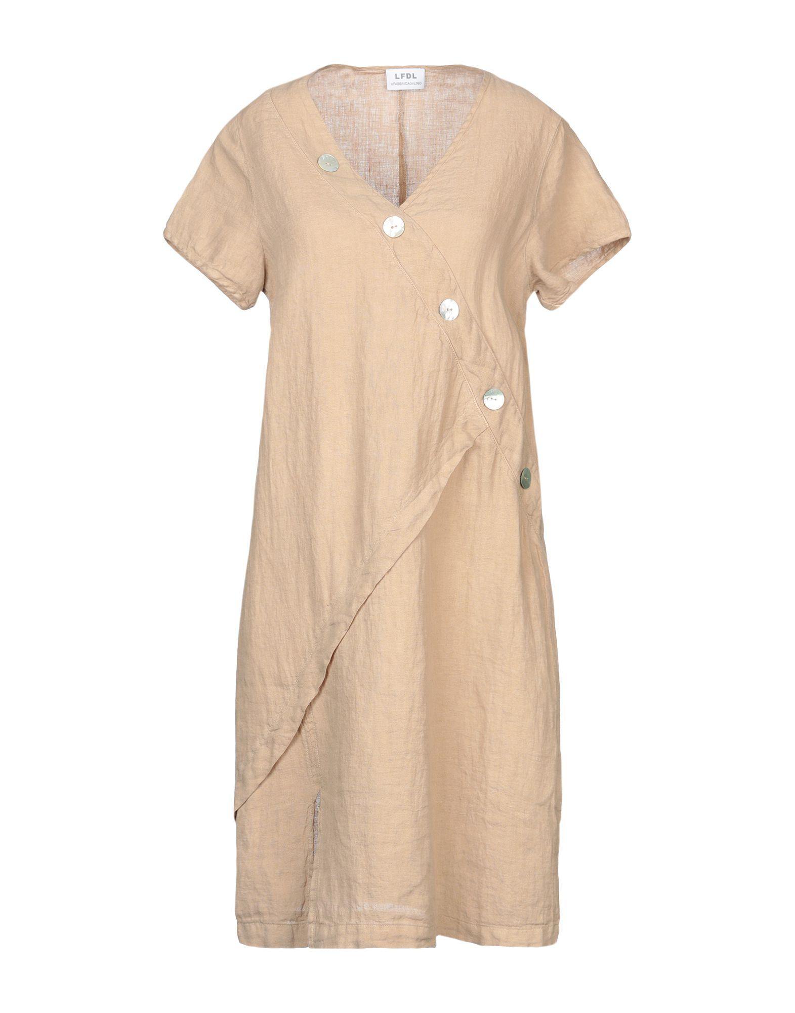 LFDL LA FABBRICA DEL LINO Короткое платье magazzini del sale короткое платье