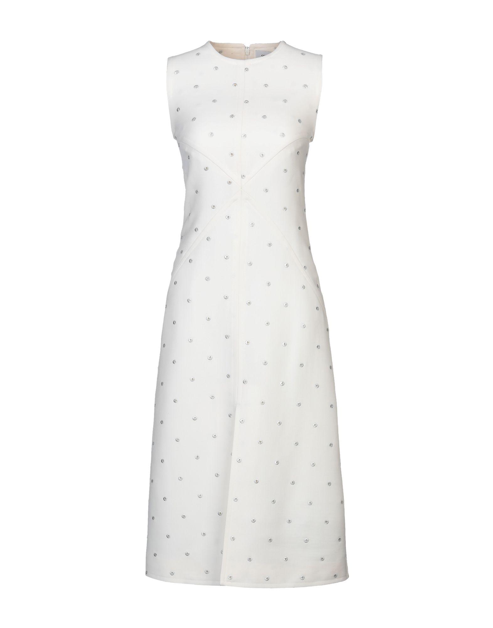 COURRÈGES Платье до колена недорго, оригинальная цена