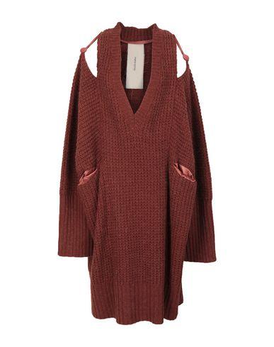 Фото - Платье до колена от PHAÉDOSTUDIO коричневого цвета
