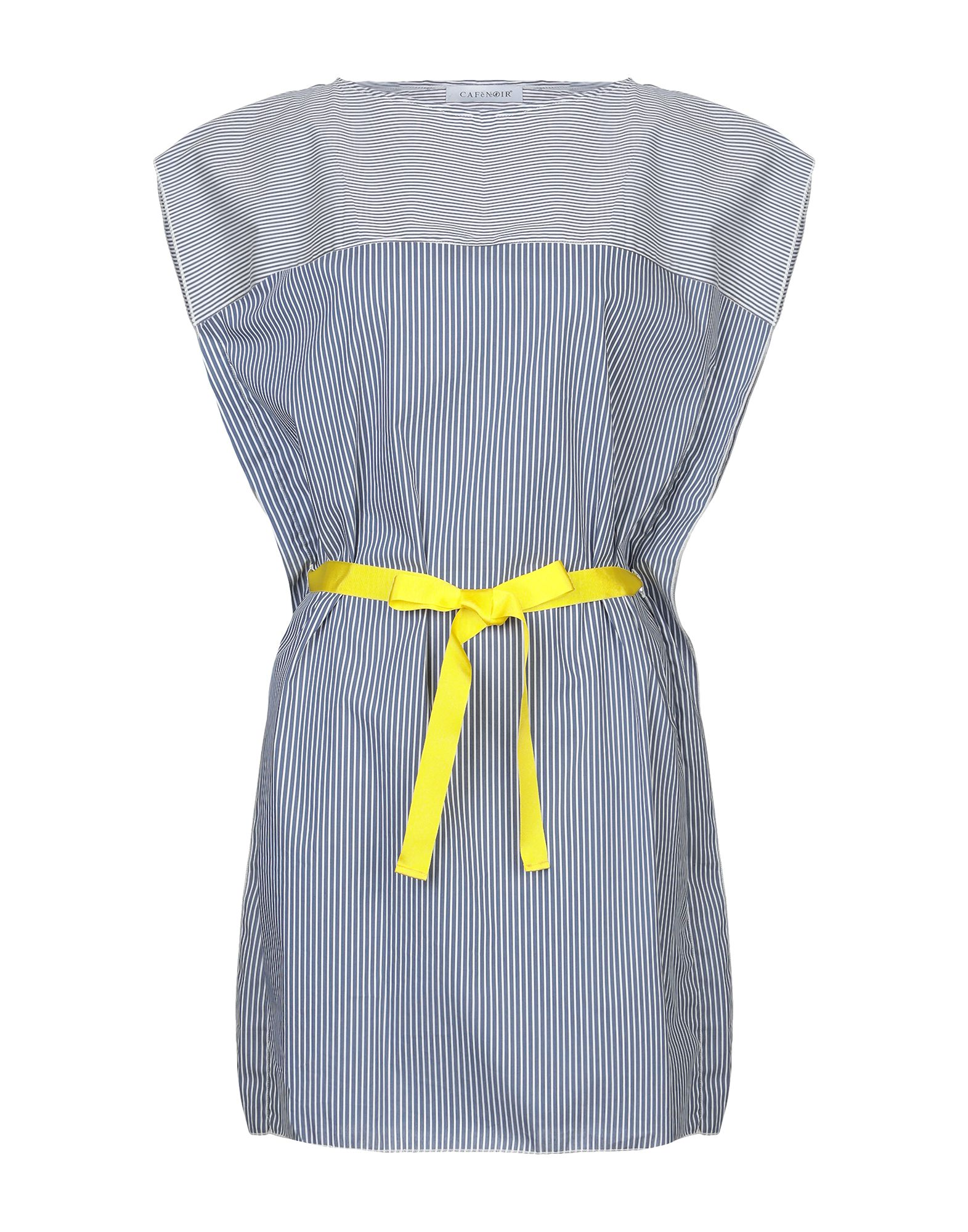 CAFèNOIR Короткое платье cafènoir ремень