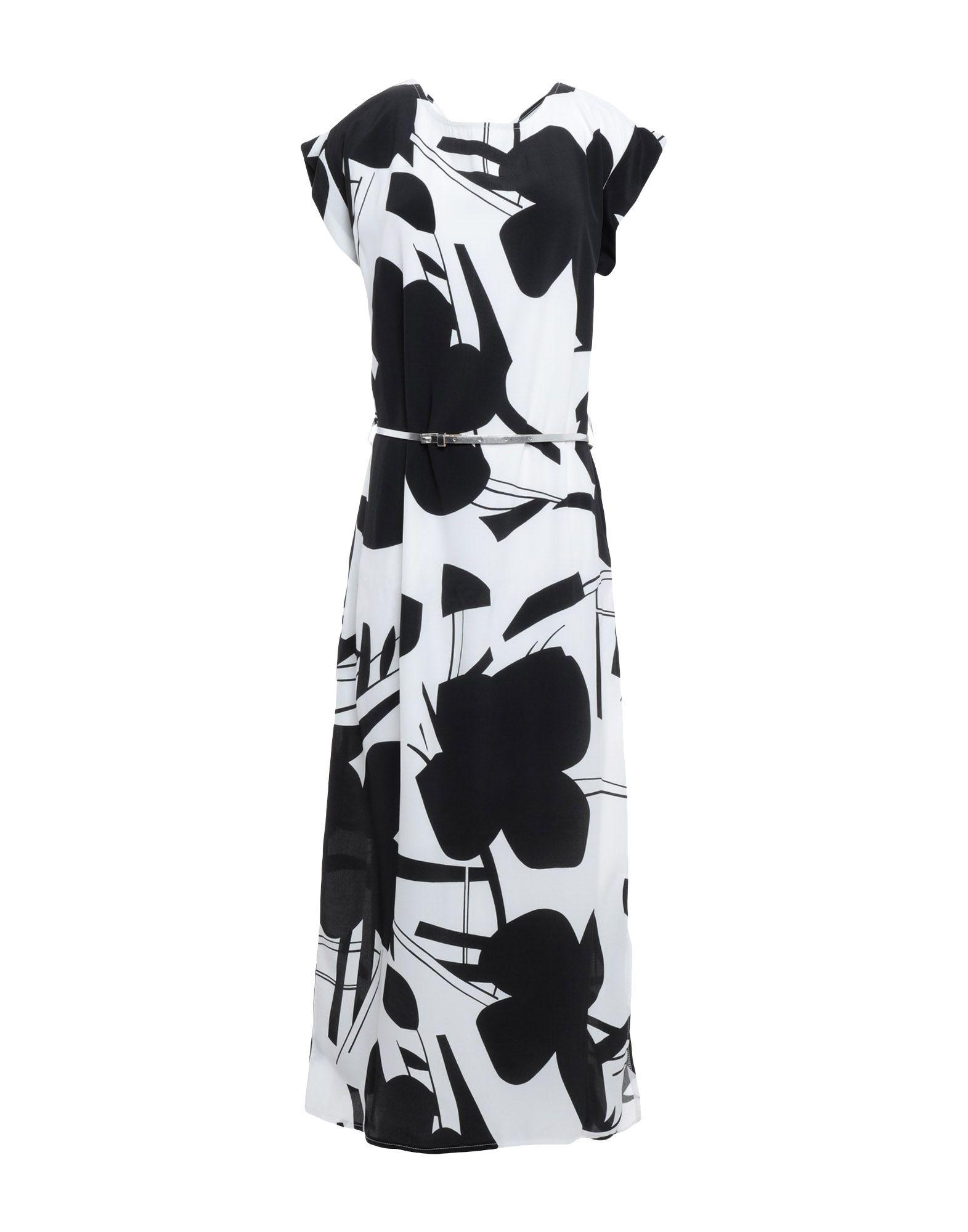 CAFèNOIR Платье длиной 3/4 cafènoir ремень