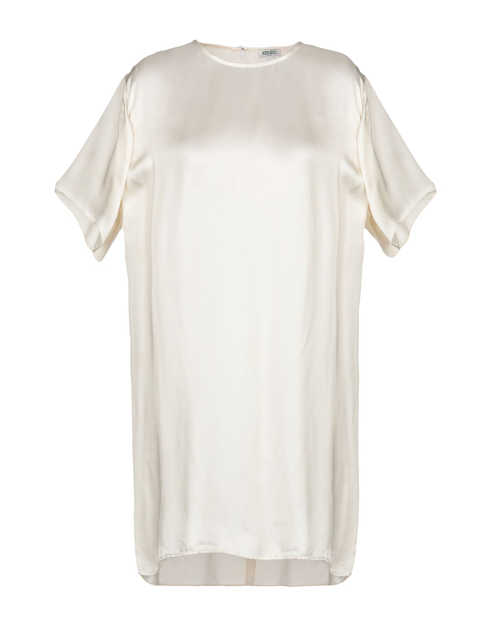 KENZO Damen Kurzes Kleid Farbe Schwarz Größe 5