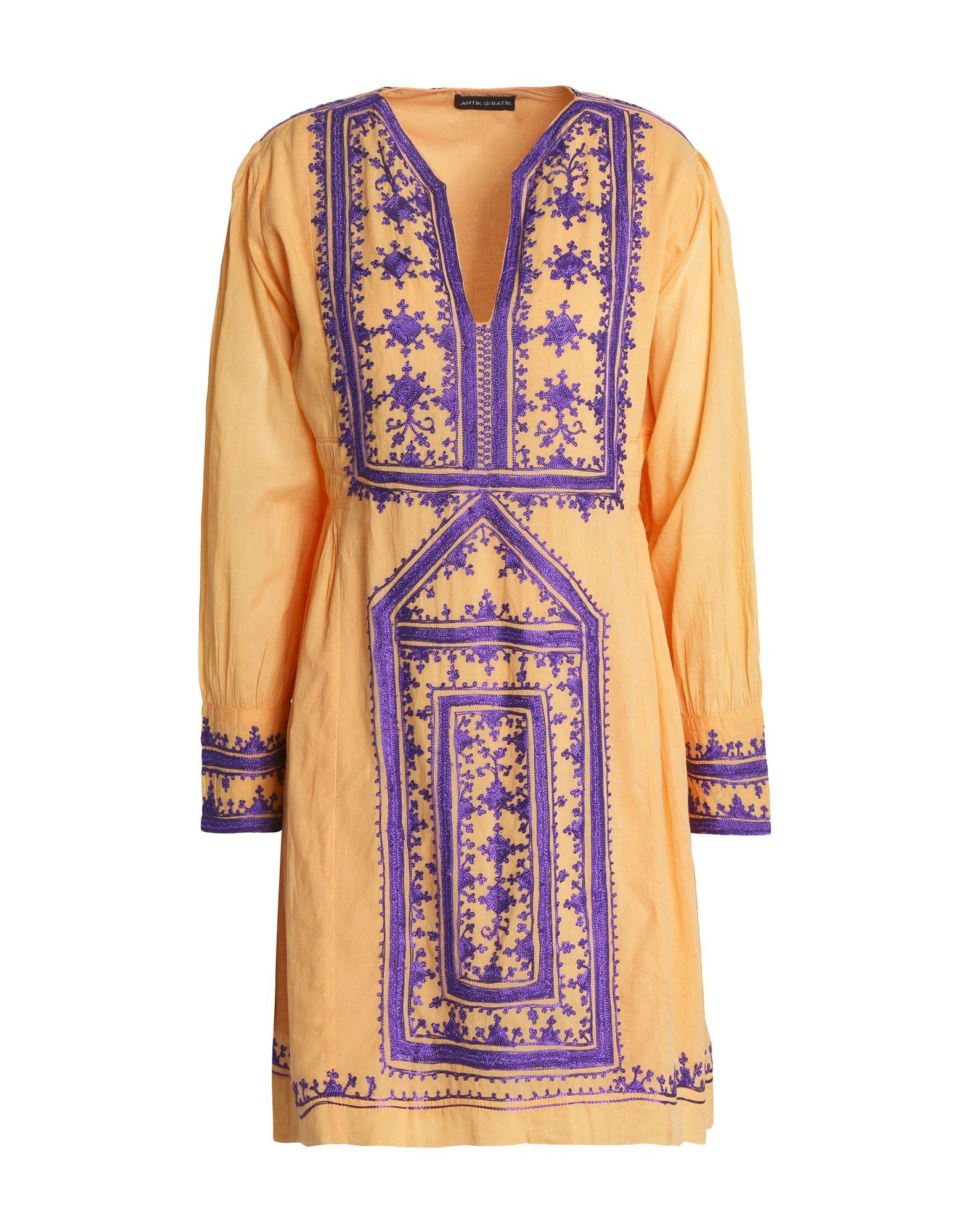 ANTIK BATIK Короткое платье antik batik длинное платье