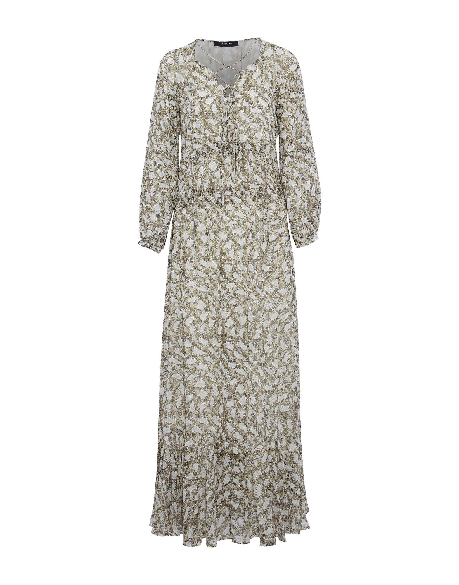 DEREK LAM Длинное платье derek lam шелковое платье
