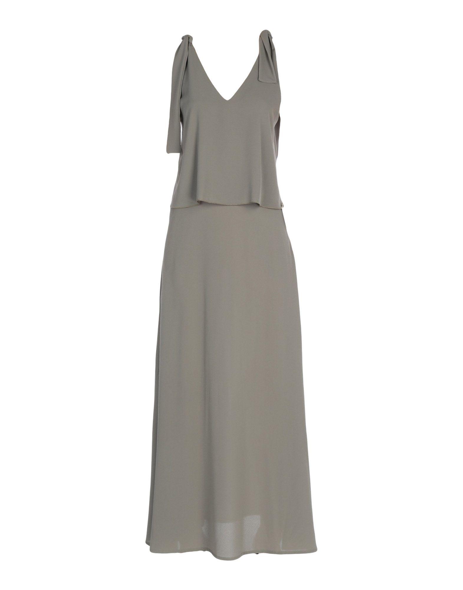 ANIMAGEMELLA Длинное платье цена и фото