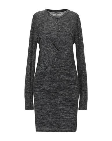Купить Женское короткое платье ISABEL MARANT ÉTOILE свинцово-серого цвета