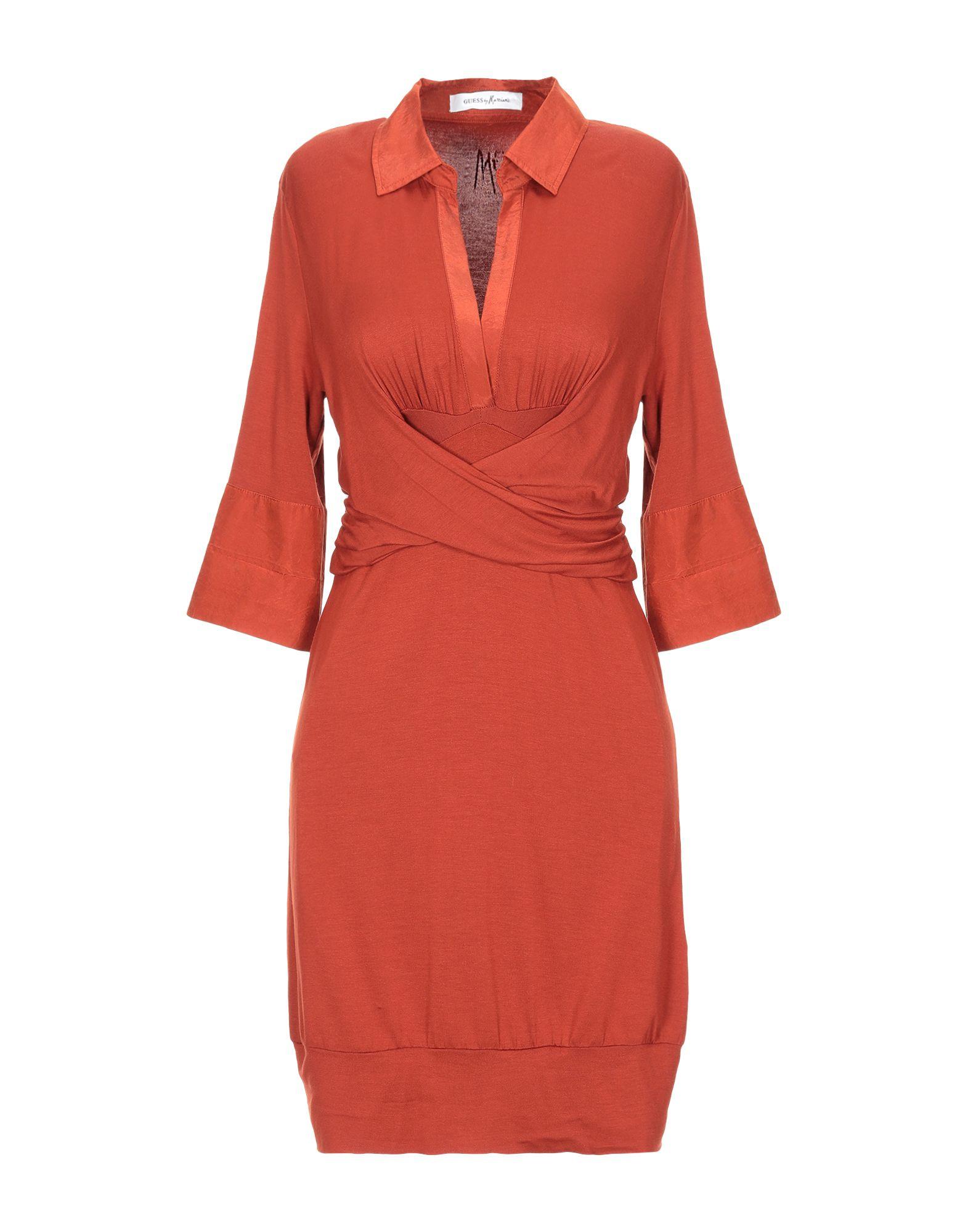 GUESS BY MARCIANO Короткое платье джемпер marciano guess 74g543 5356z g835