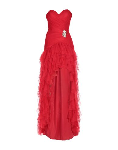 Фото - Женское короткое платье INVITO HAUTE COUTURE красного цвета