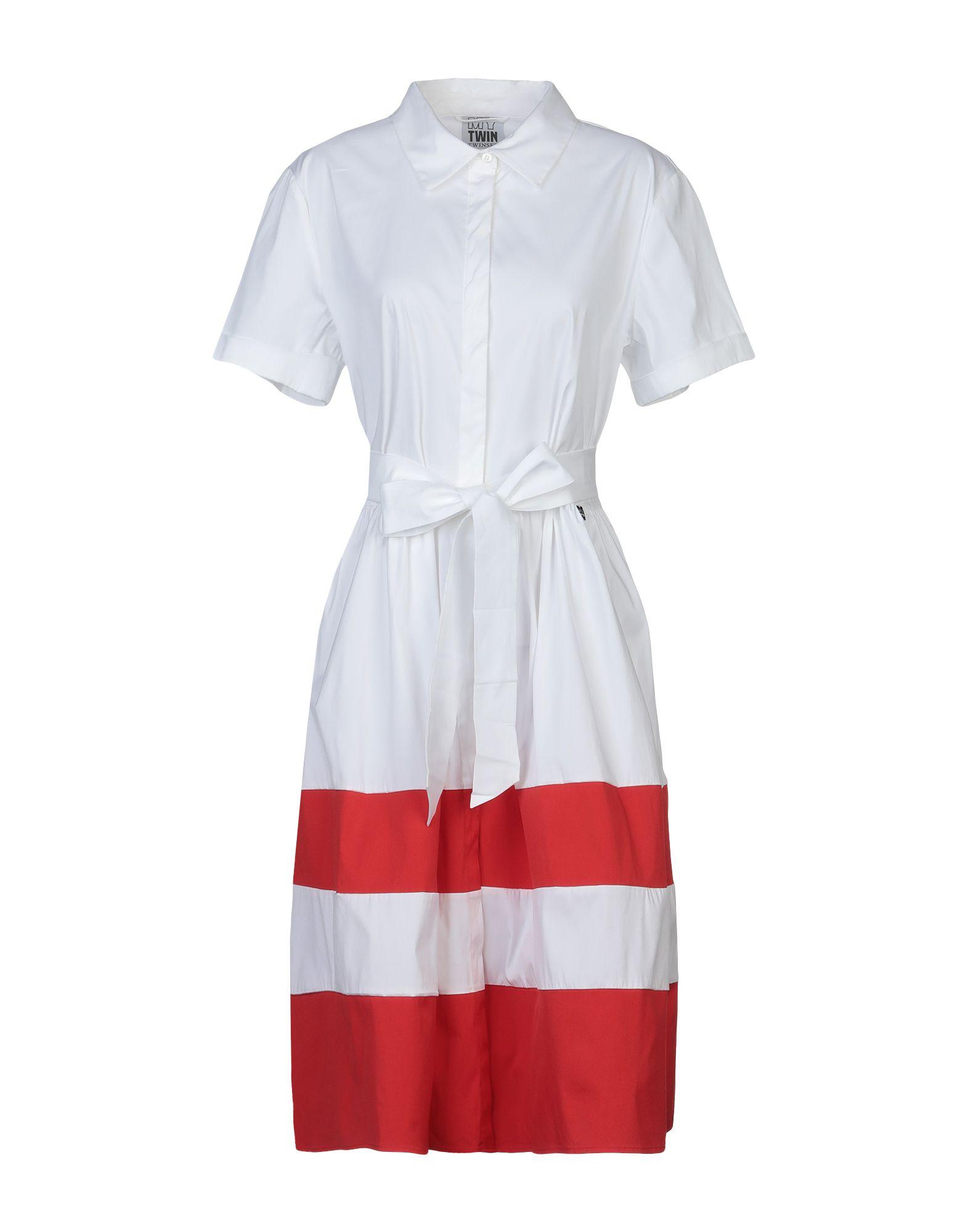 MY TWIN by TWIN SET Платье до колена my twin by twin set длинное платье