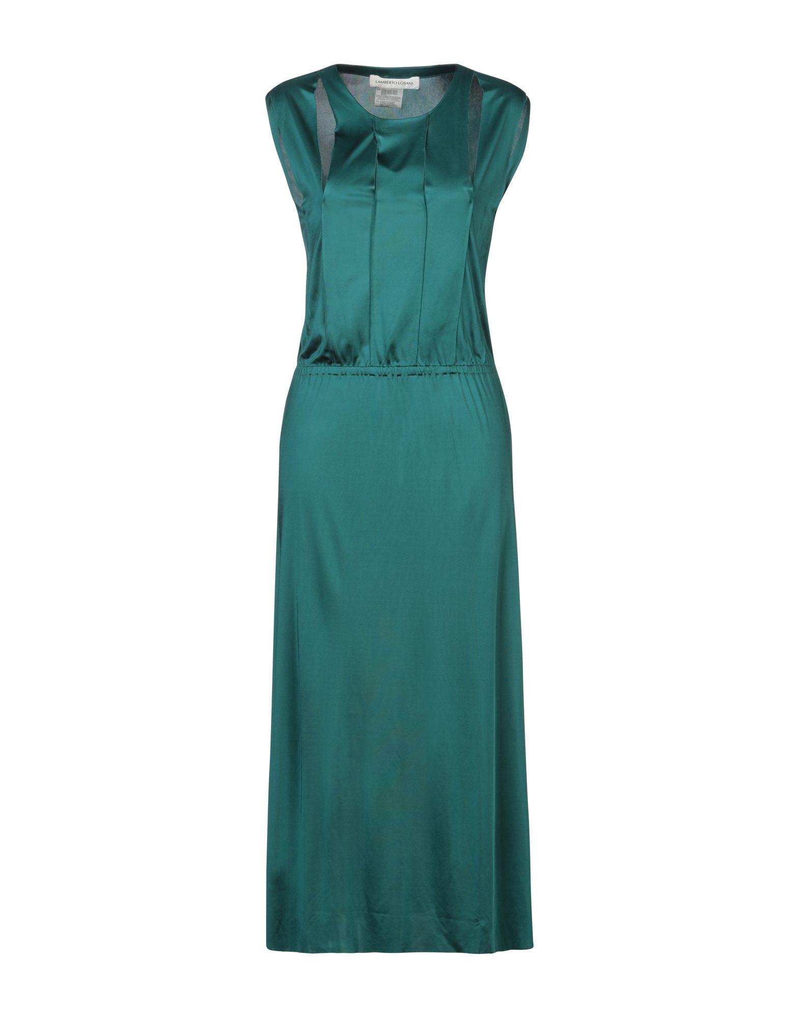LAMBERTO LOSANI Длинное платье lamberto losani платье до колена