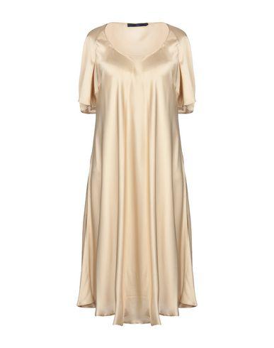 Купить Платье до колена от BLUE LES COPAINS бежевого цвета