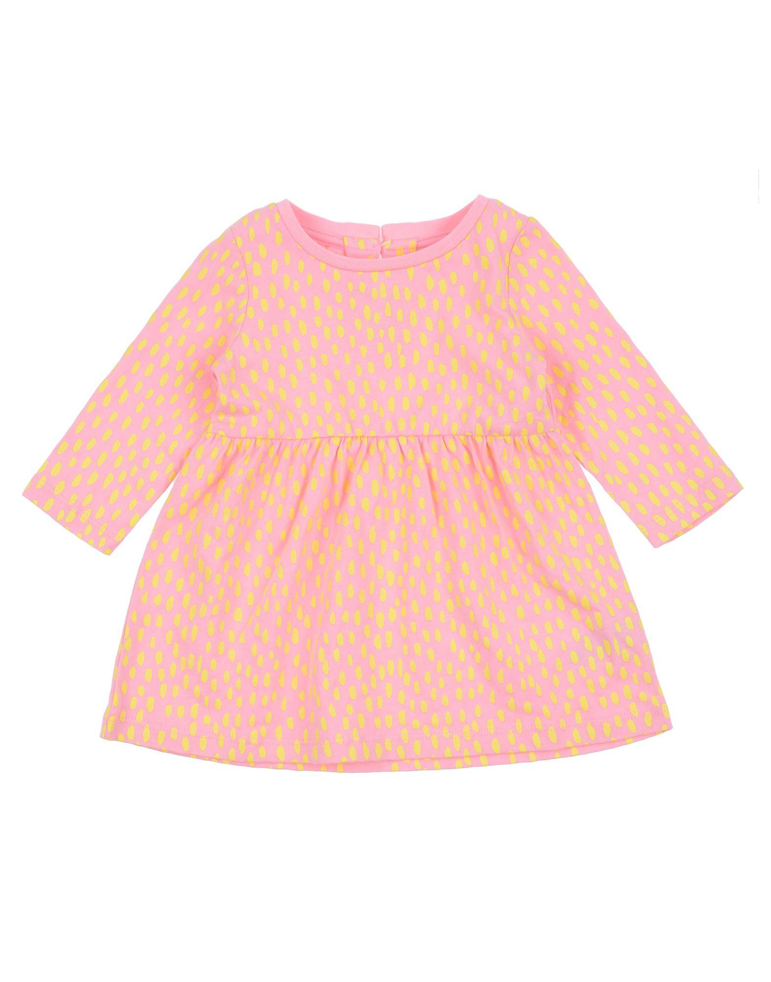 《セール開催中》STELLA McCARTNEY KIDS ガールズ 0-24 ヶ月 ワンピース・ドレス ピンク 3 コットン 100%