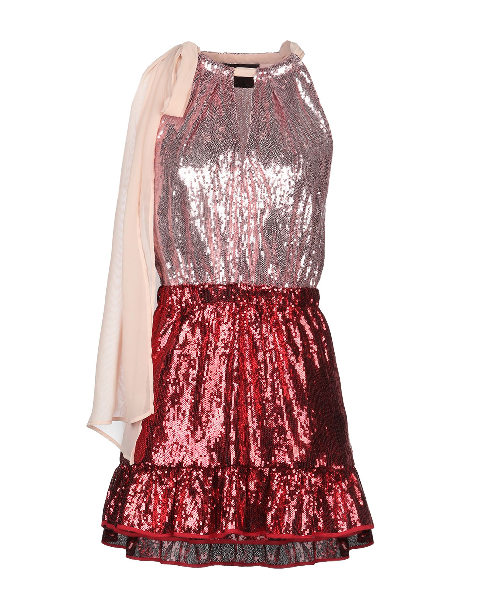 CHRISTIAN PELLIZZARI Короткое платье christian pellizzari юбка длиной 3 4