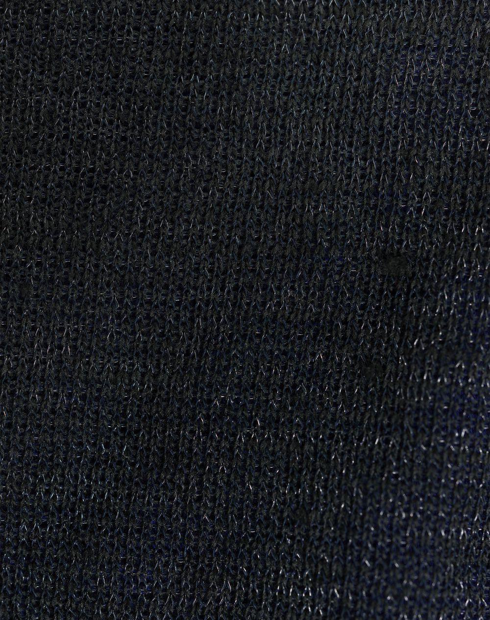 SHORT LINEN JERSEY T-SHIRT   - Lanvin