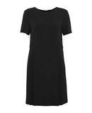 ADAM LIPPES Damen Kurzes Kleid Farbe Schwarz Größe 5