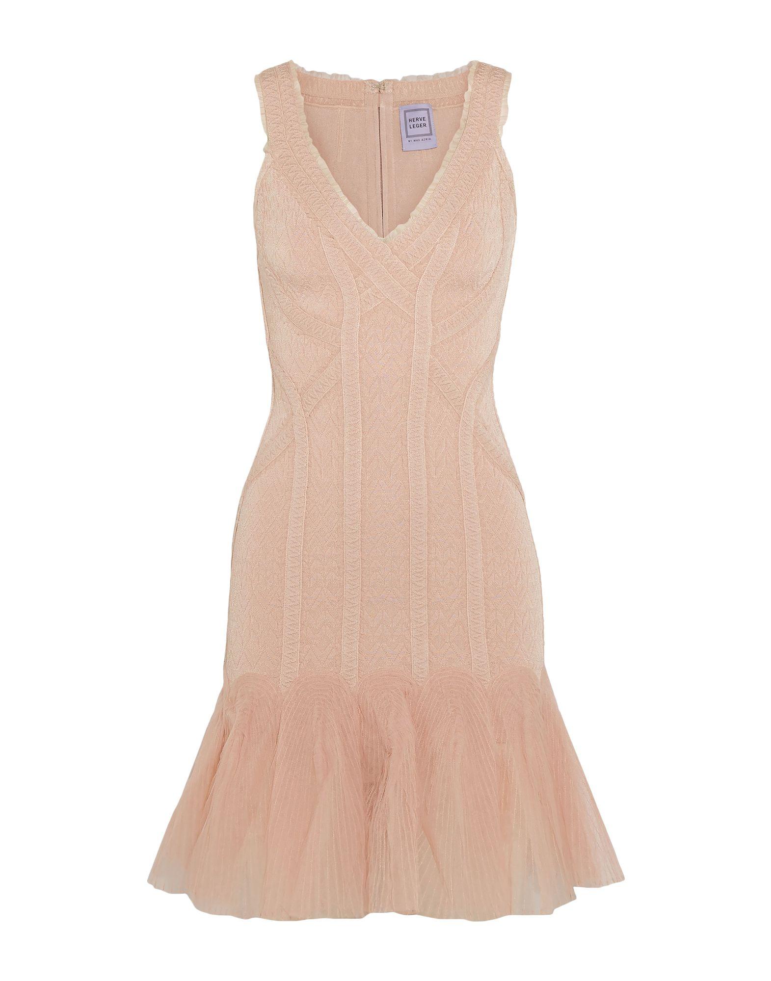 HERVÉ LÉGER Короткое платье hervé léger короткое платье