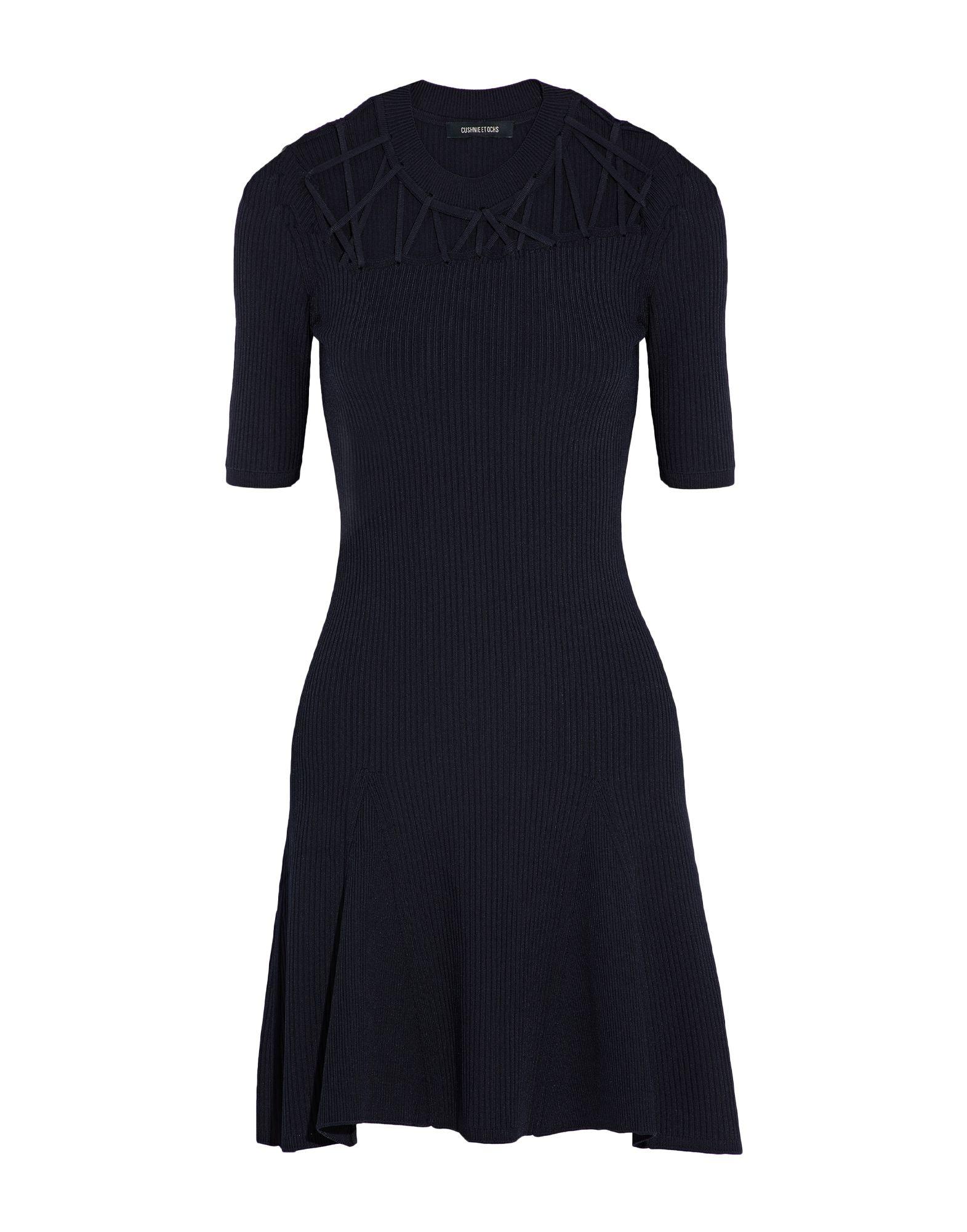 CUSHNIE Короткое платье