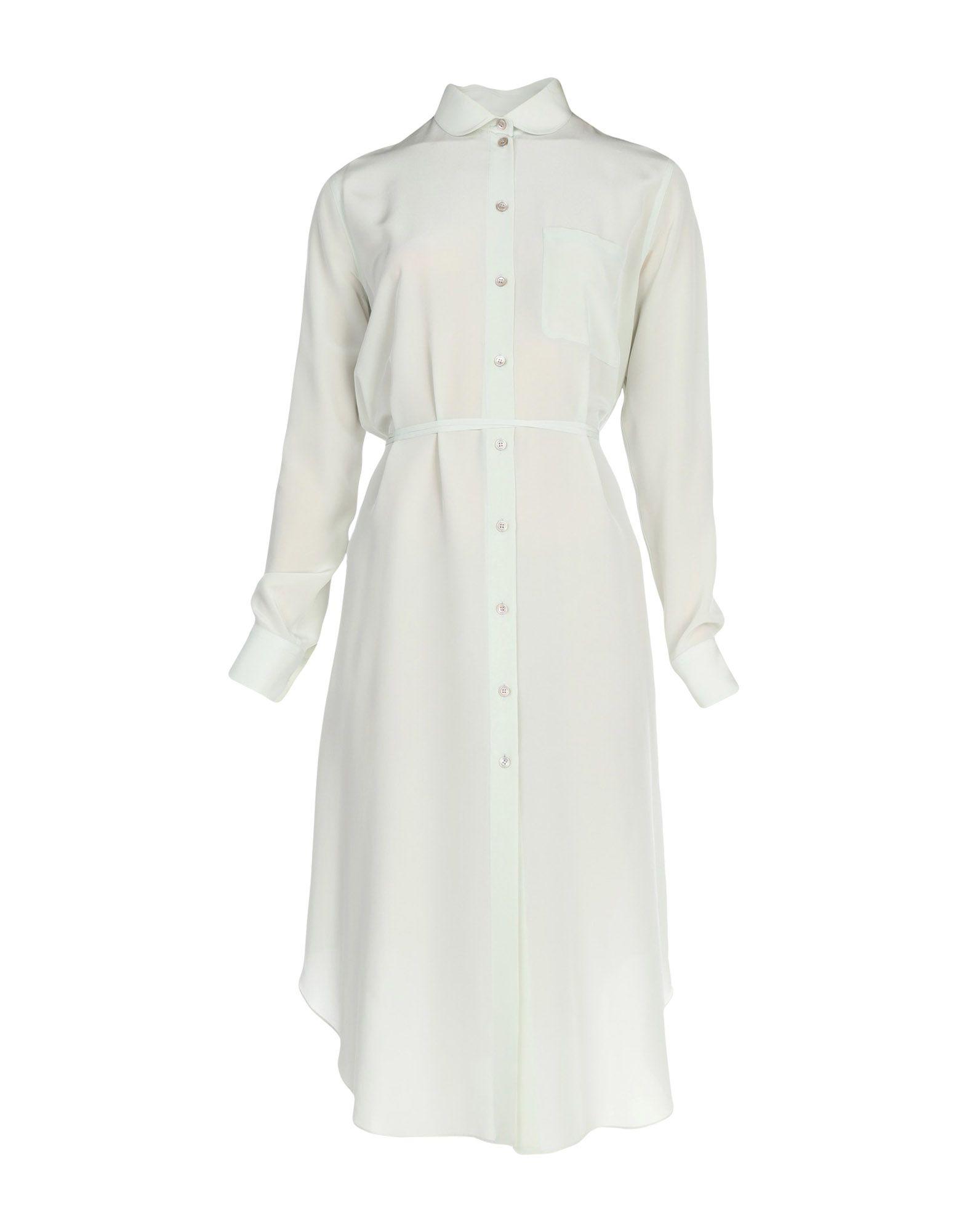 Фото - JIL SANDER NAVY Платье длиной 3/4 active cut out elastic vest in navy