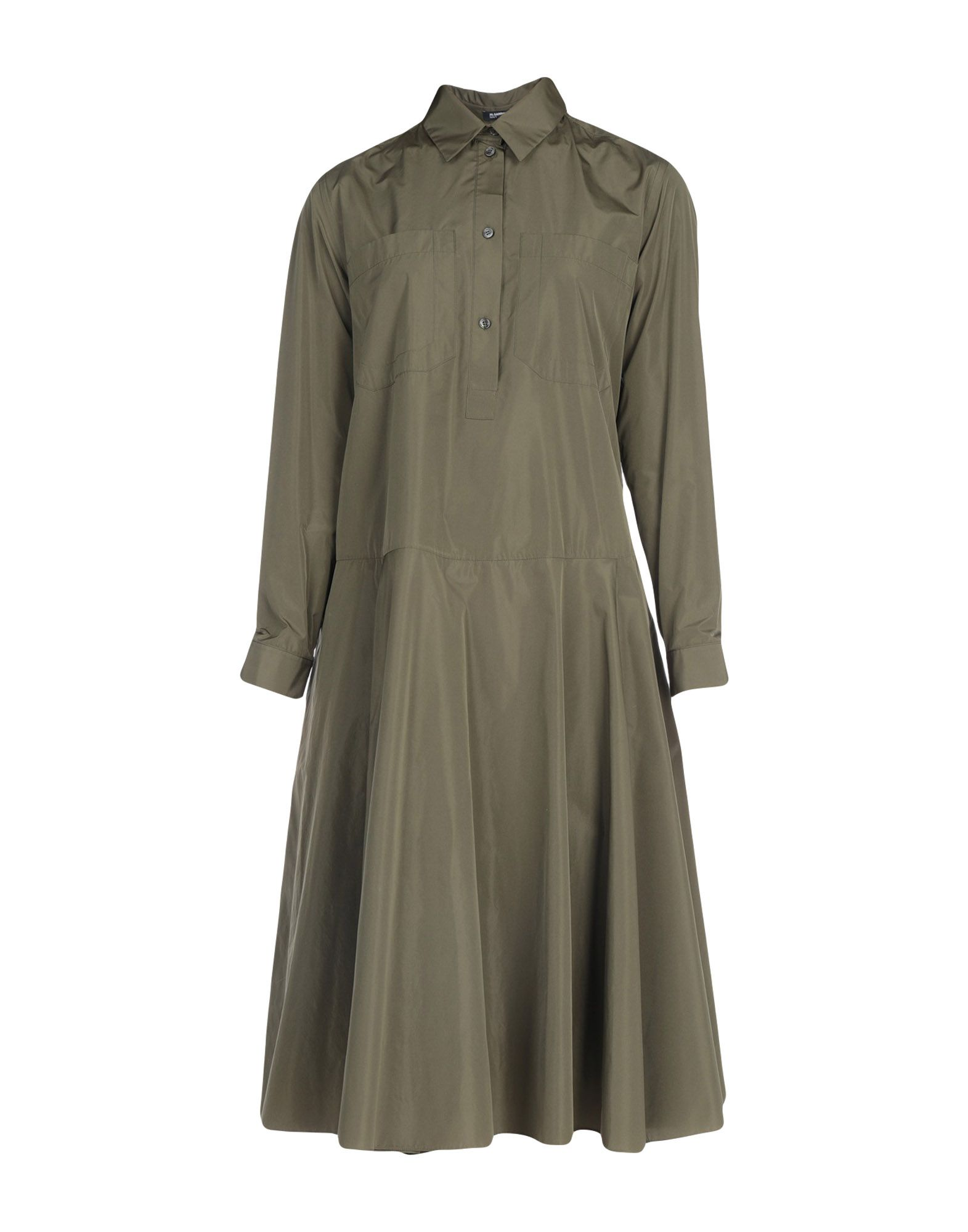 Фото - JIL SANDER NAVY Короткое платье active cut out elastic vest in navy