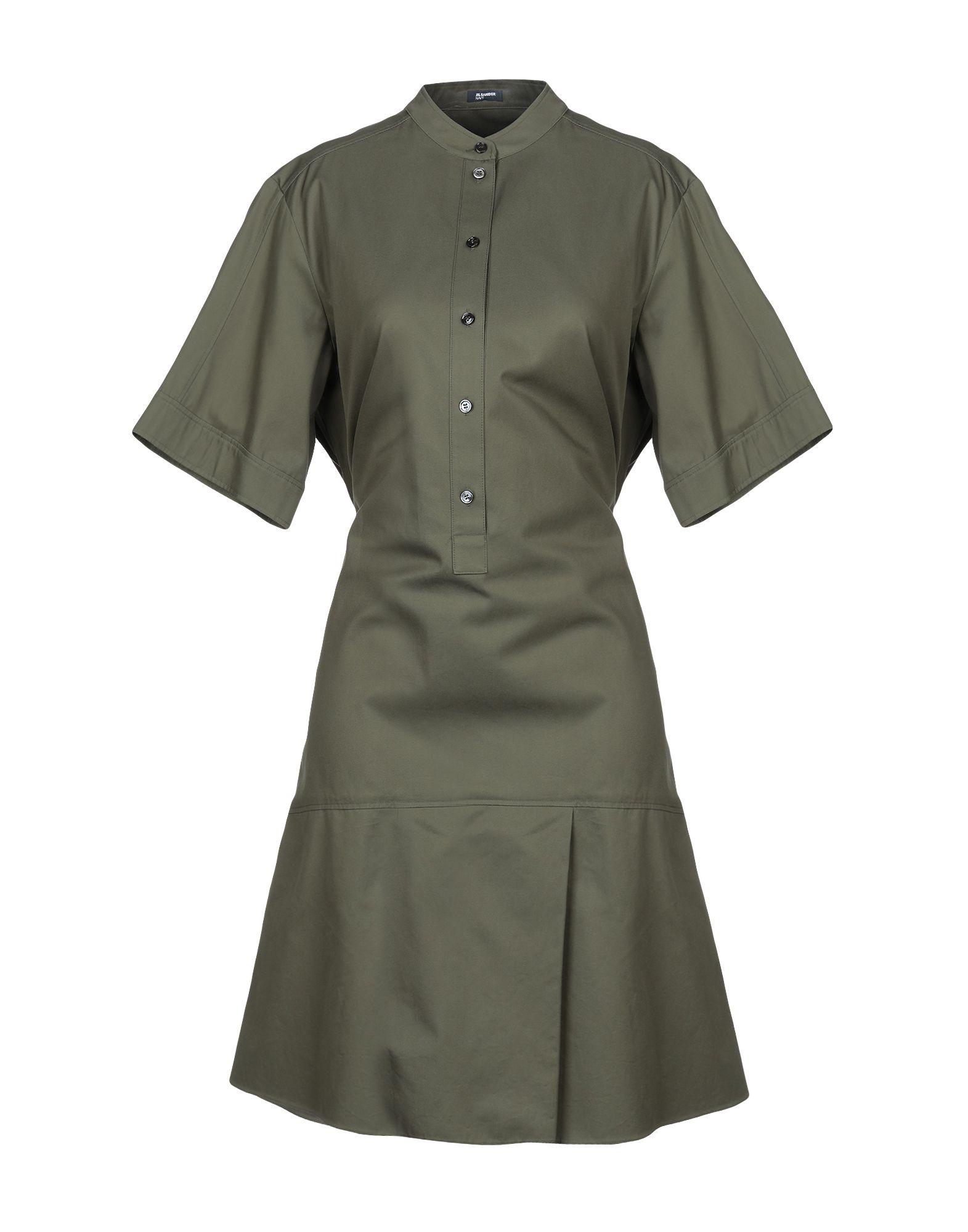 JIL SANDER NAVY Короткое платье платье jil sander navy jil sander navy ji005eweal39
