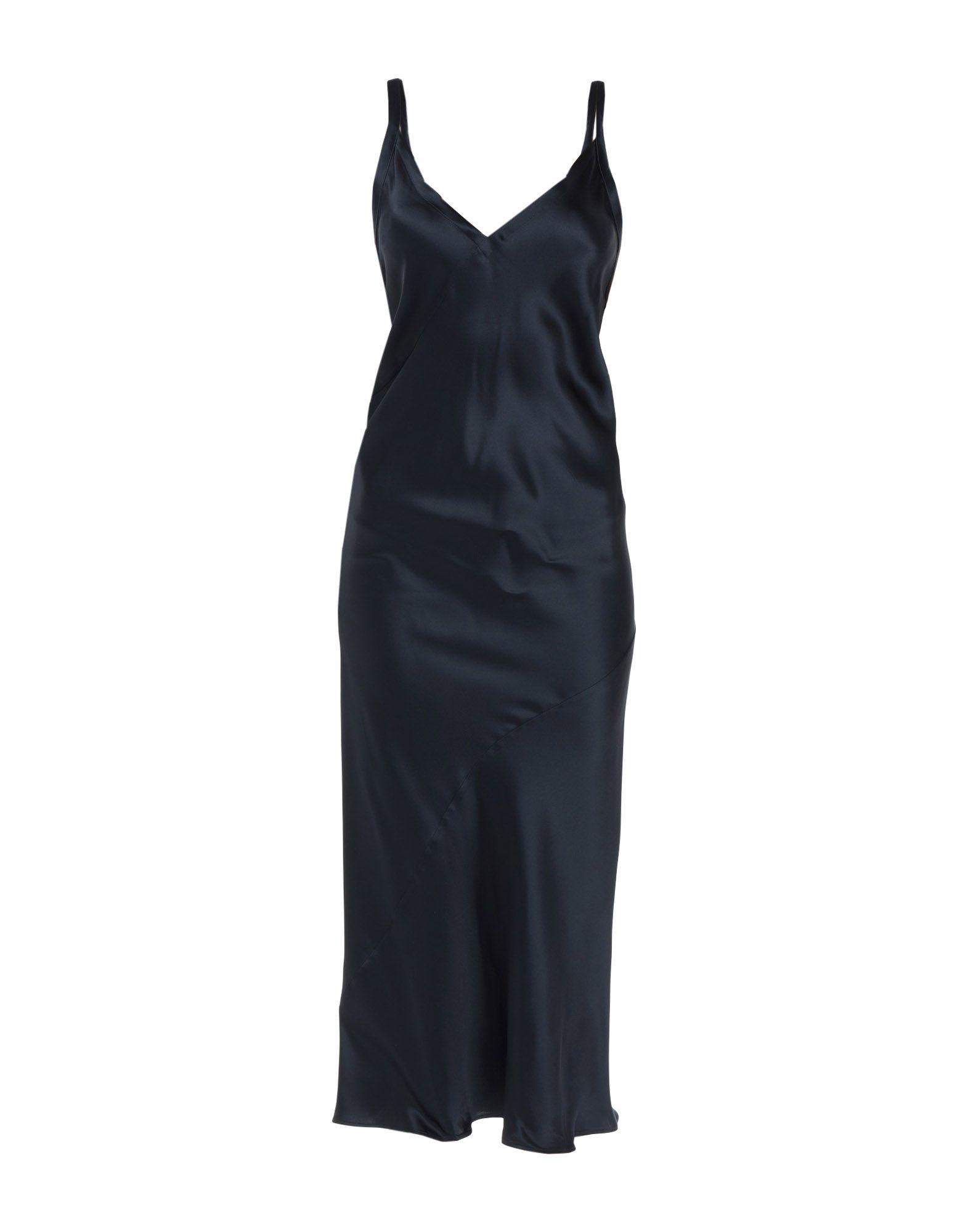 Фото - JIL SANDER NAVY Длинное платье active cut out elastic vest in navy
