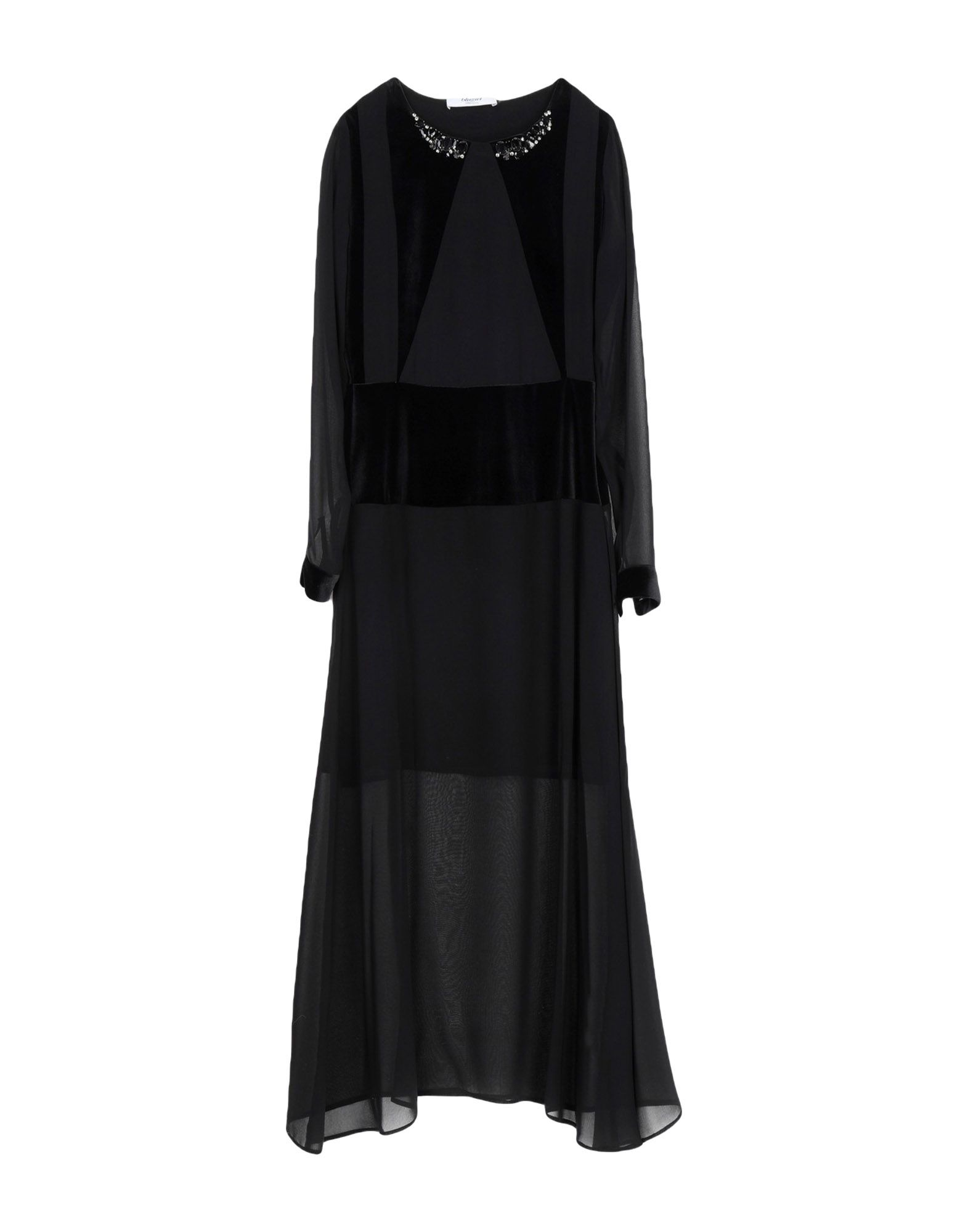 BLUGIRL BLUMARINE Длинное платье универсальное платье на молнии blugirl