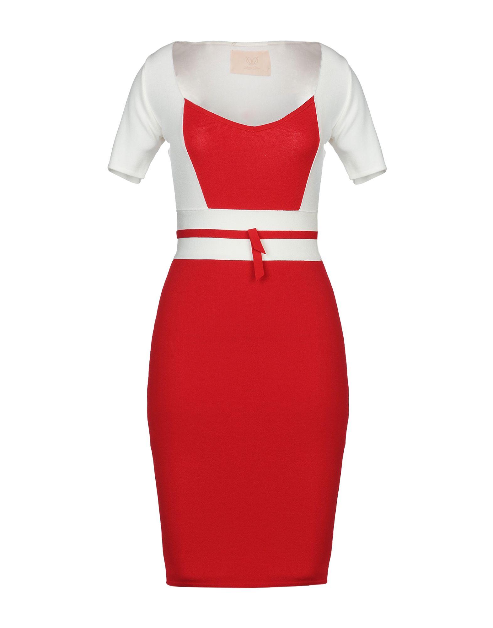 BETTY BLUE Платье до колена цена 2017