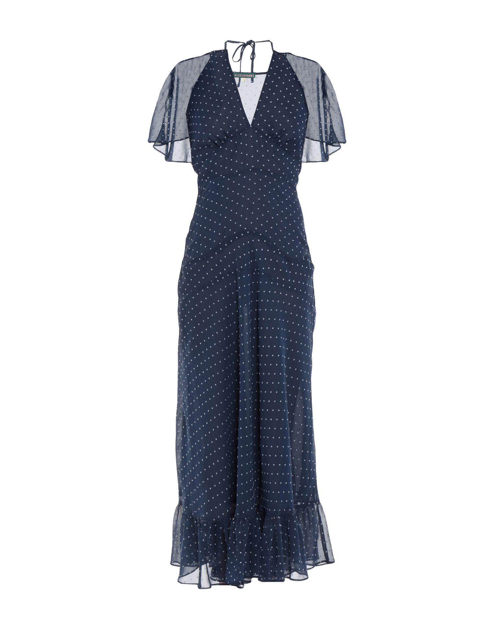 ALEXACHUNG Длинное платье