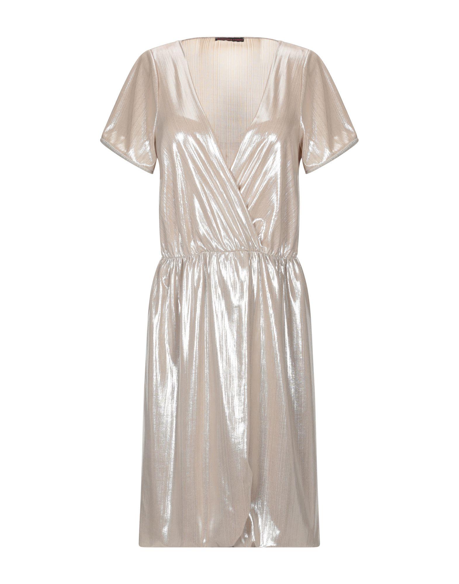 цена FRANCESCA CONOCI Короткое платье онлайн в 2017 году