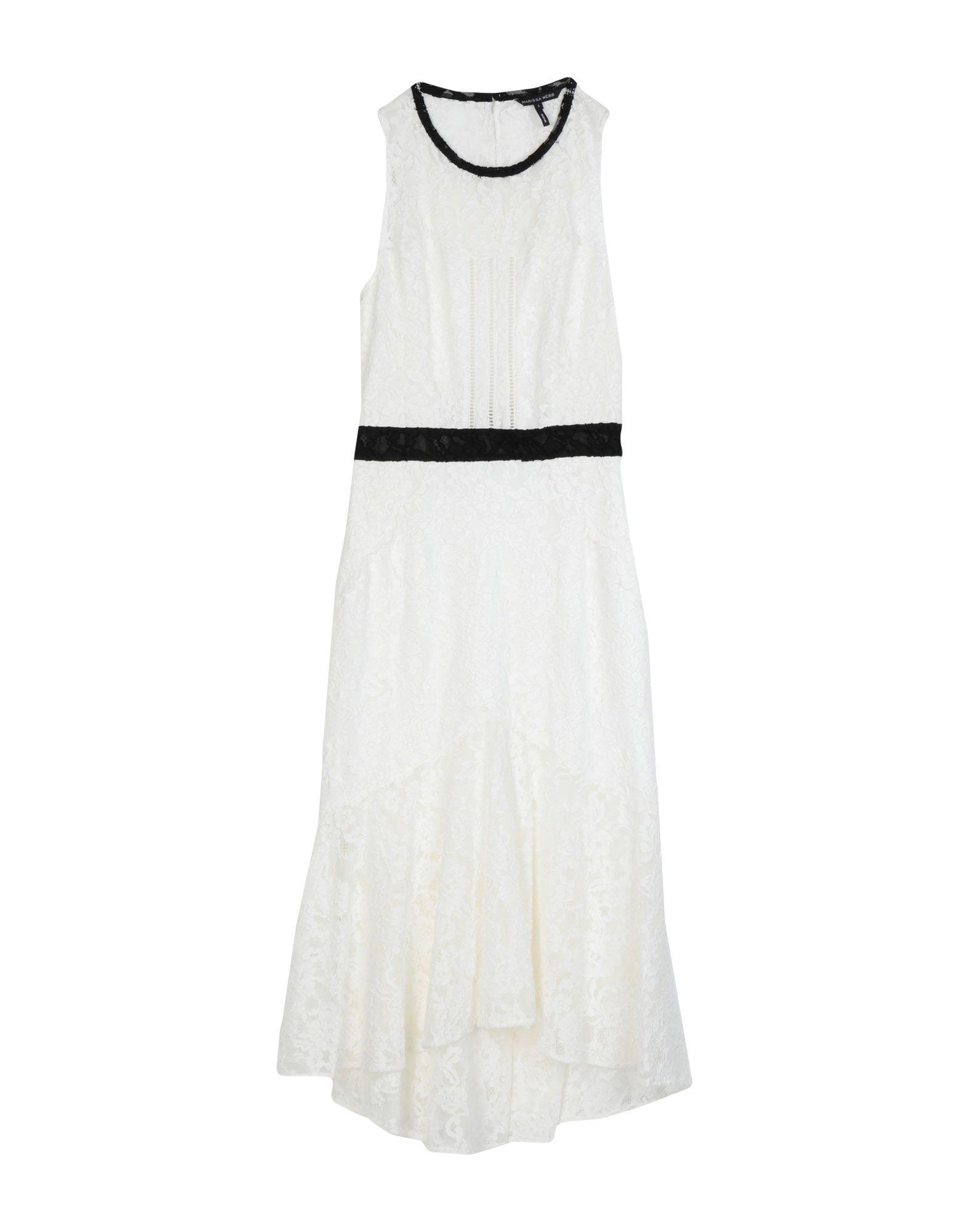 MARISSA WEBB Платье длиной 3/4 marissa webb юбка длиной 3 4
