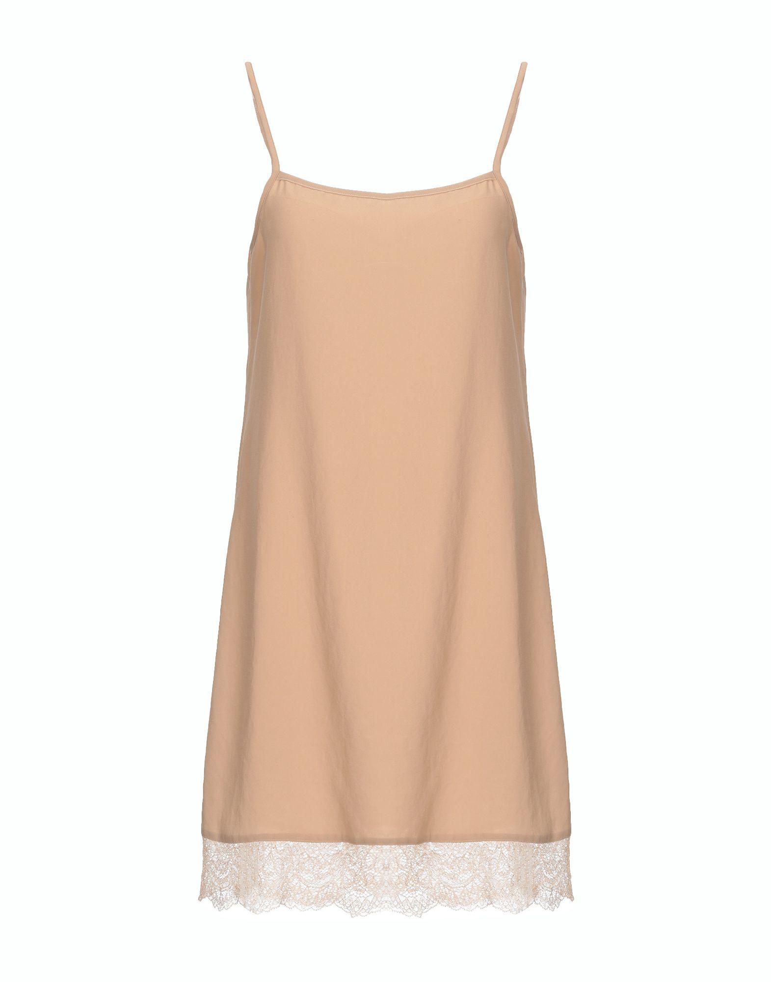 BLUGIRL FOLIES Короткое платье платье без рукавов с кружевной вставкой на спинке