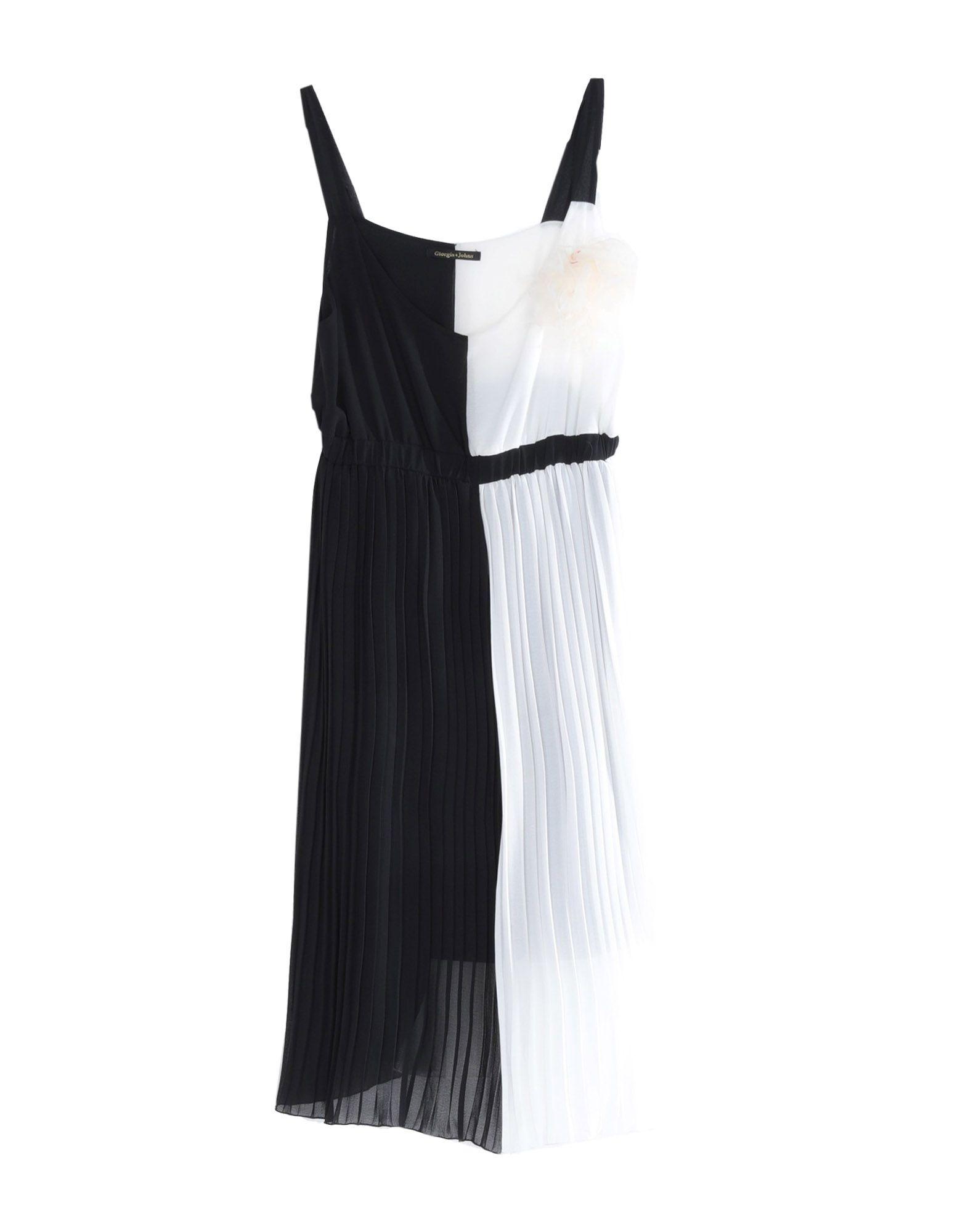 Фото - GIORGIA & JOHNS Платье до колена брошь blucome bijouteria esmaltes 7106100495