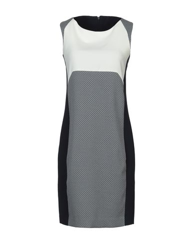 Фото - Женское короткое платье FLIRT темно-синего цвета