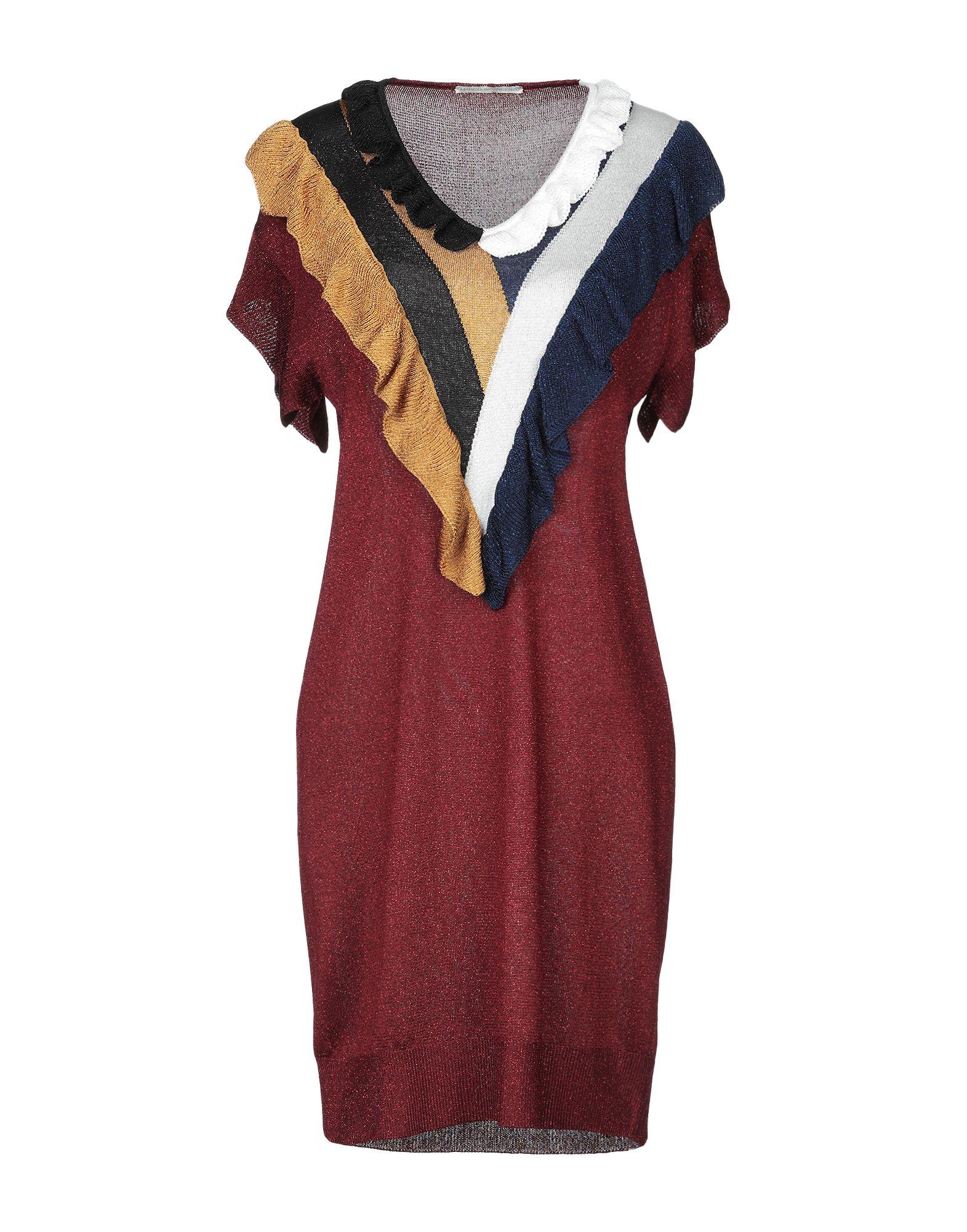 MARCO DE VINCENZO Короткое платье cora de adamich короткое платье