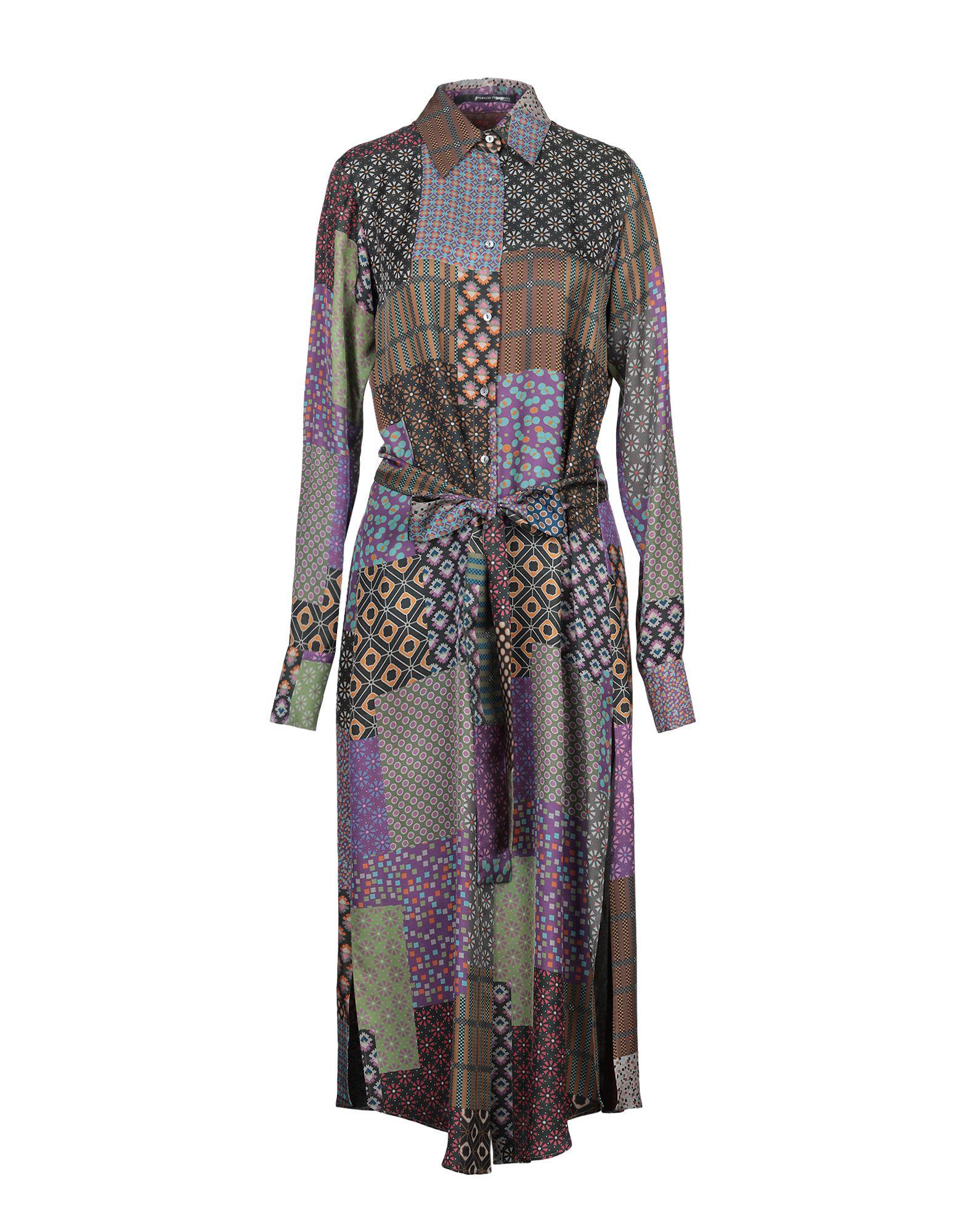 MAURIZIO PECORARO Платье длиной 3/4 maurizio pecoraro юбка длиной 3 4
