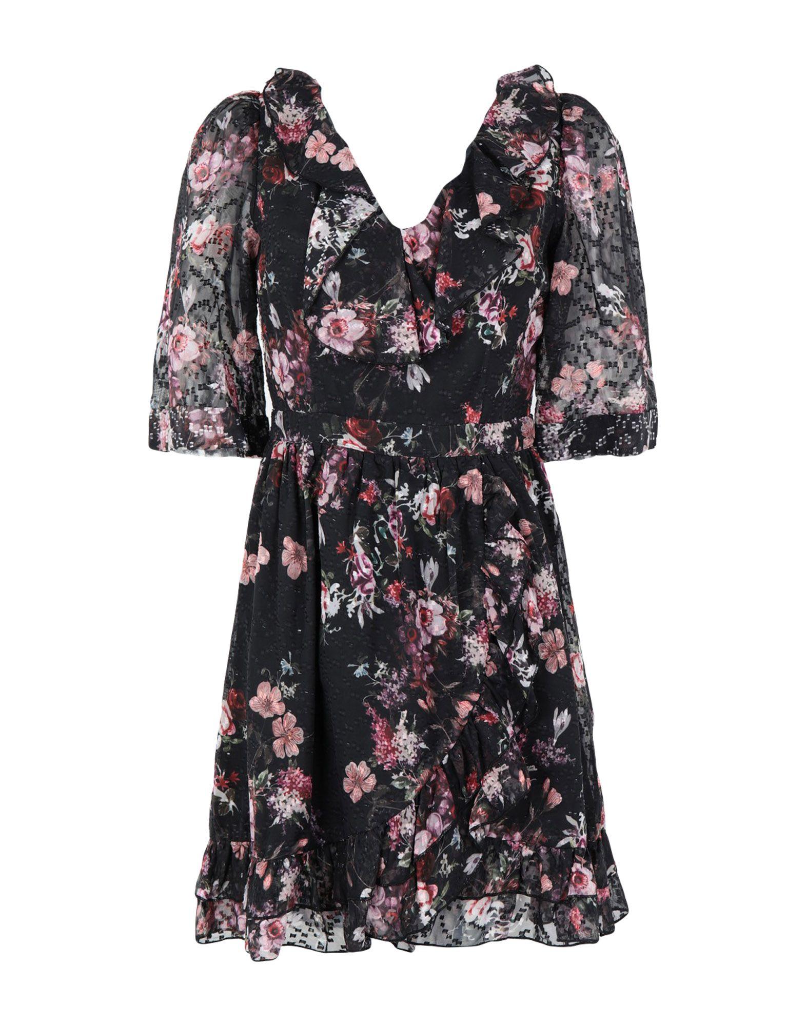 WE ARE KINDRED Damen Kurzes Kleid Farbe Schwarz Größe 4